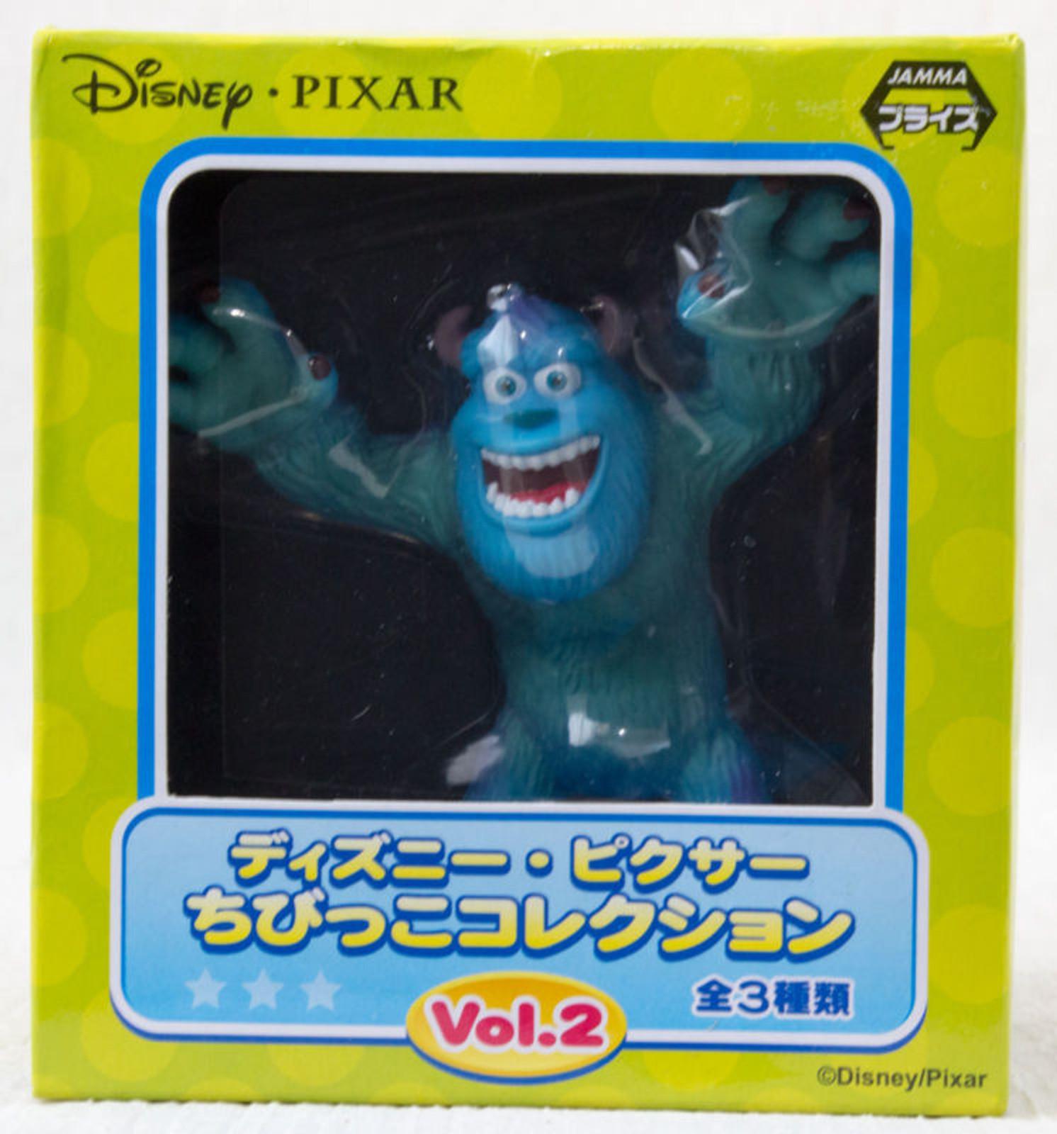 Disney Pixar Chibikko Collection Sulley Monsters Inc Mini Figure SEGA JAPAN
