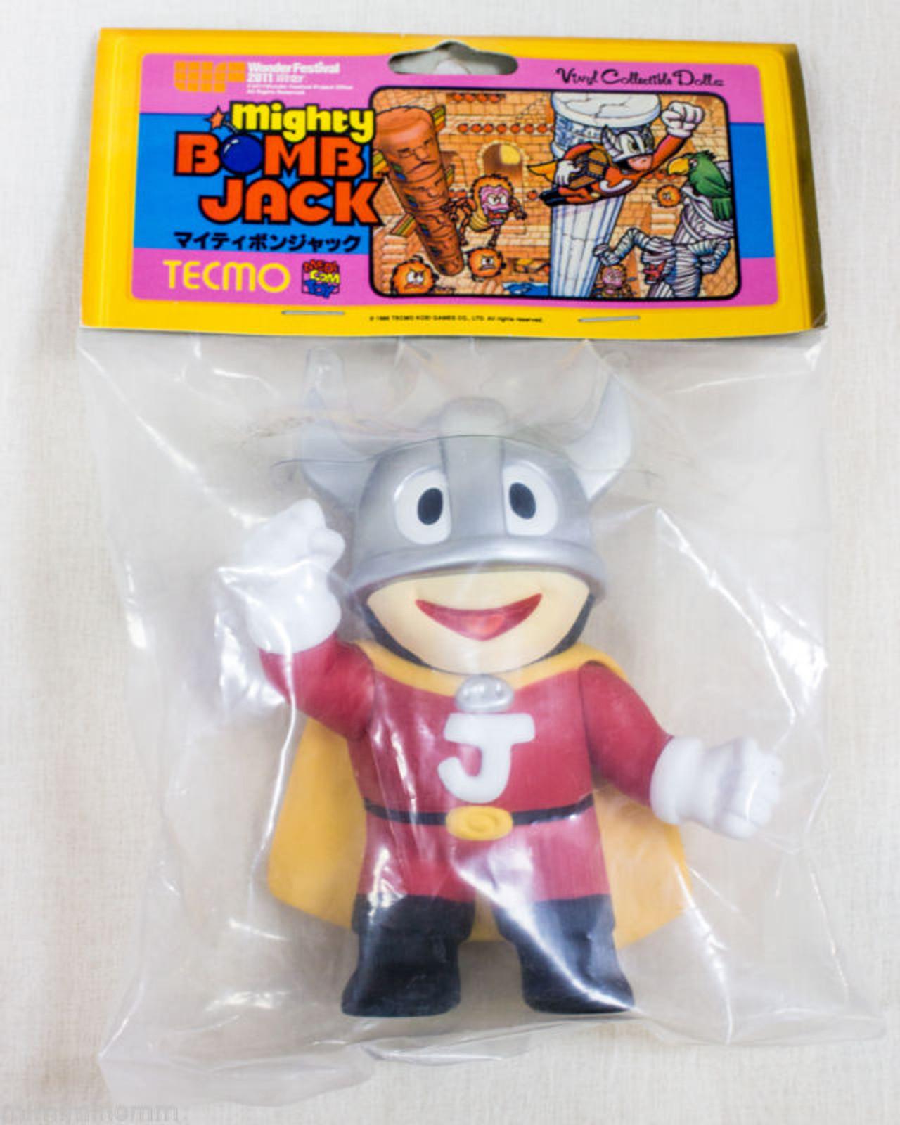 Mighty Bomb Jack Silver Figure Medicom Toy VCD JAPAN FAMICOM NES