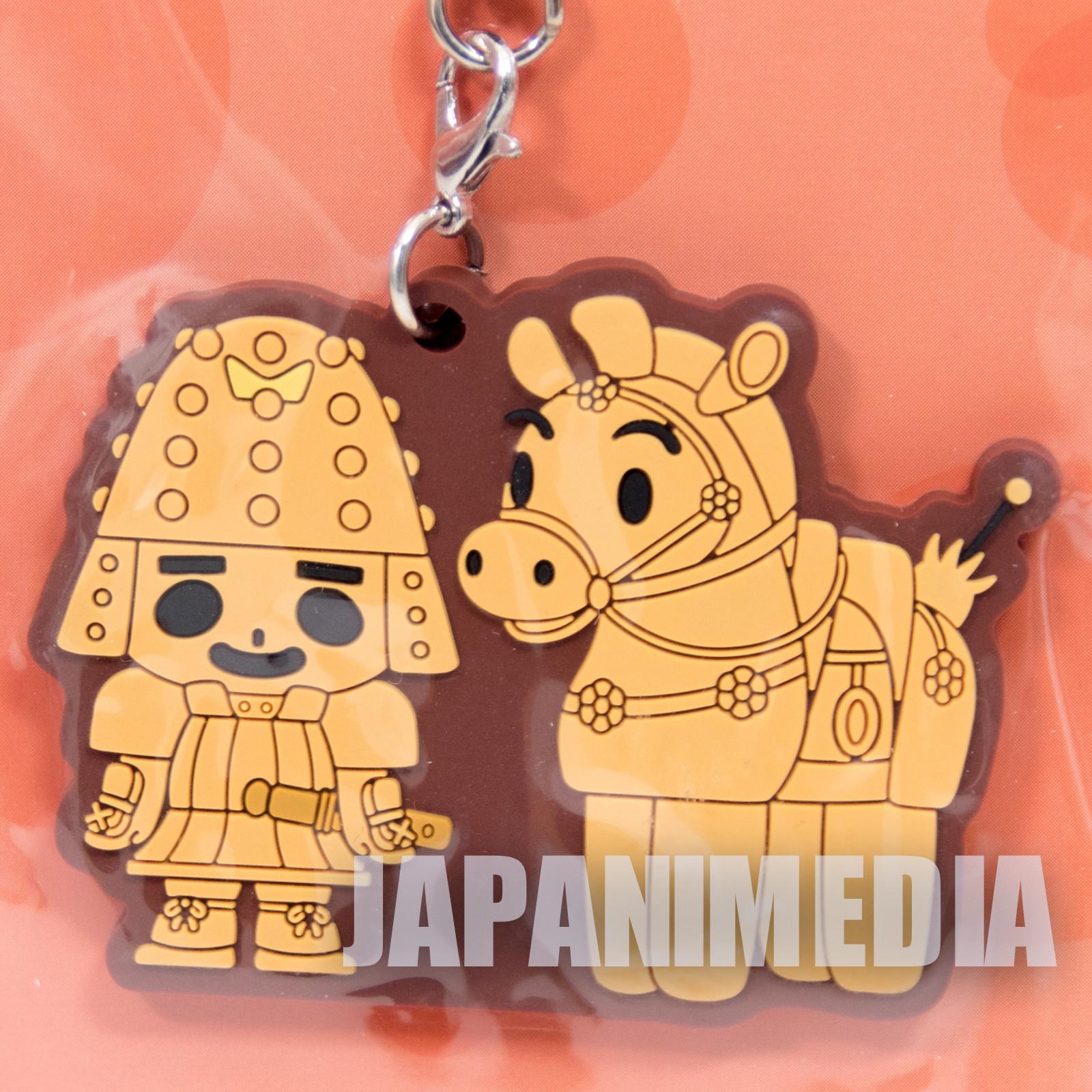 RARE! Ooi Hanimaru Hinbee Rubber Mascot Strap NHK JAPAN NHK TV