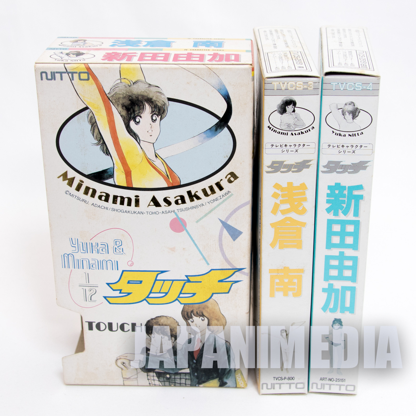 TOUCH Minami Asakura & Yuka Nitta 1/12 Plastic Model Kit JAPAN MITSURU ADACHI