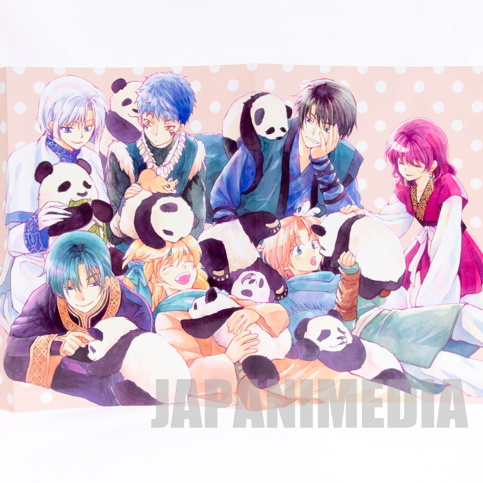 Yona of the Dawn Paper Book cover [Yona | Hak | Yun | Kija | Sinha | Jaeha | Zeno] JAPAN MANGA