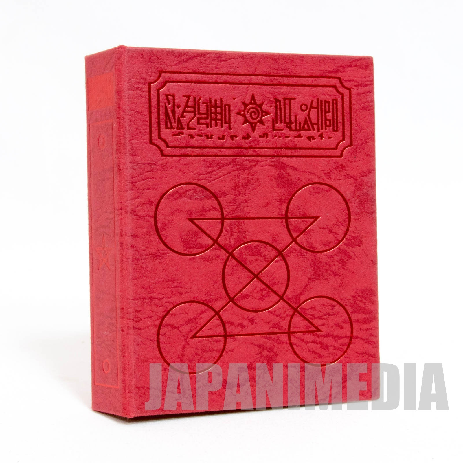 Zatch Bell! Spell Book The Card Battle Card case (Gash NEW ver. Red x Red) JAPAN ANIME