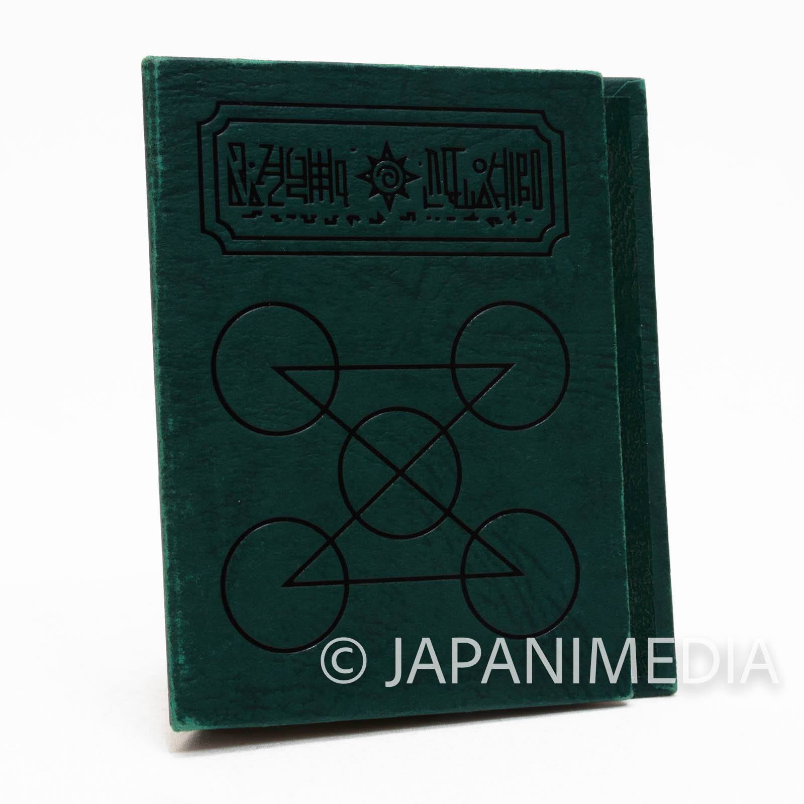 Zatch Bell! Spell Book The Card Battle Card case (Demolt ver.  Dark green) JAPAN ANIME