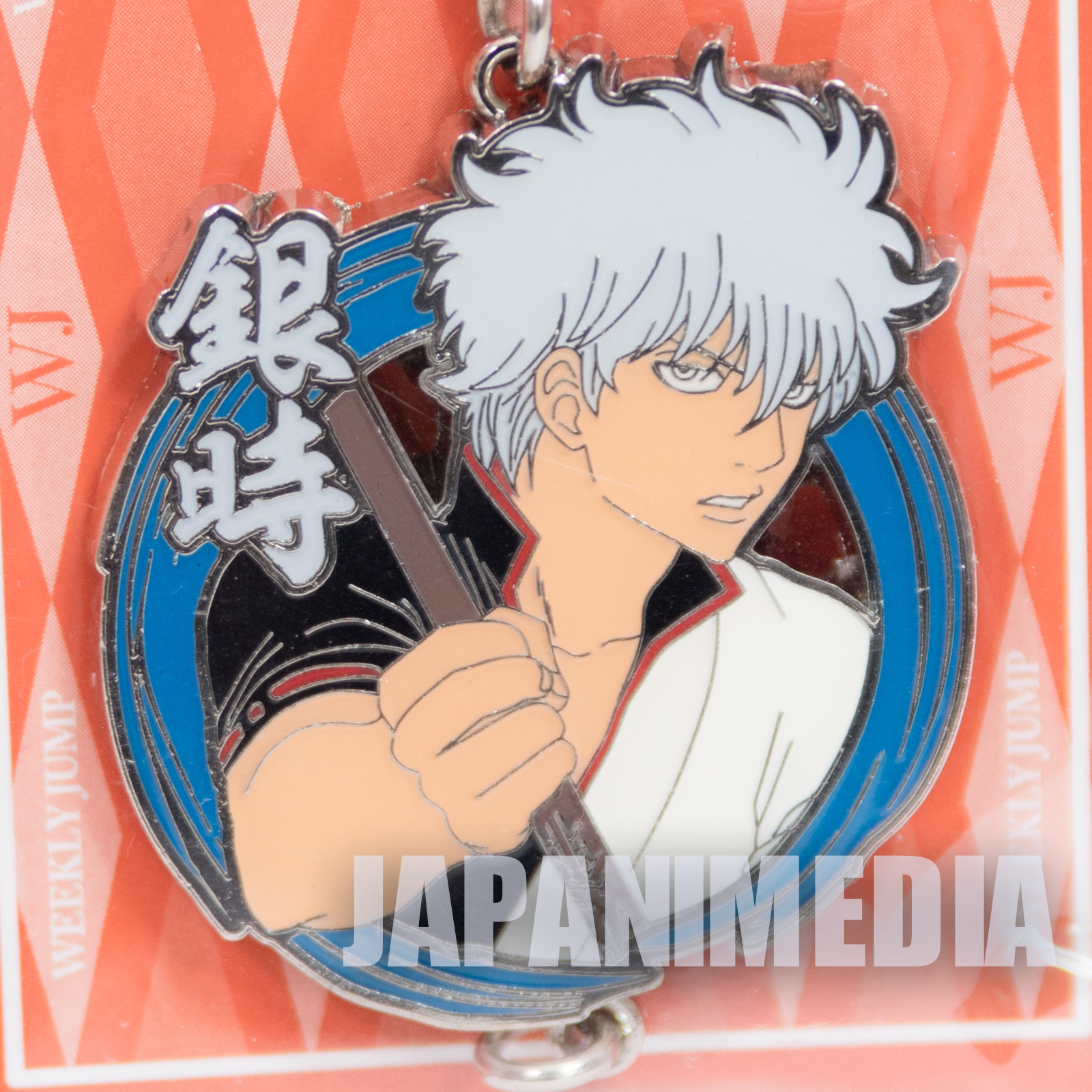 Gintama Gintama Sakata Metal Charm Collection Weekly Jump Character JAPAN ANIME