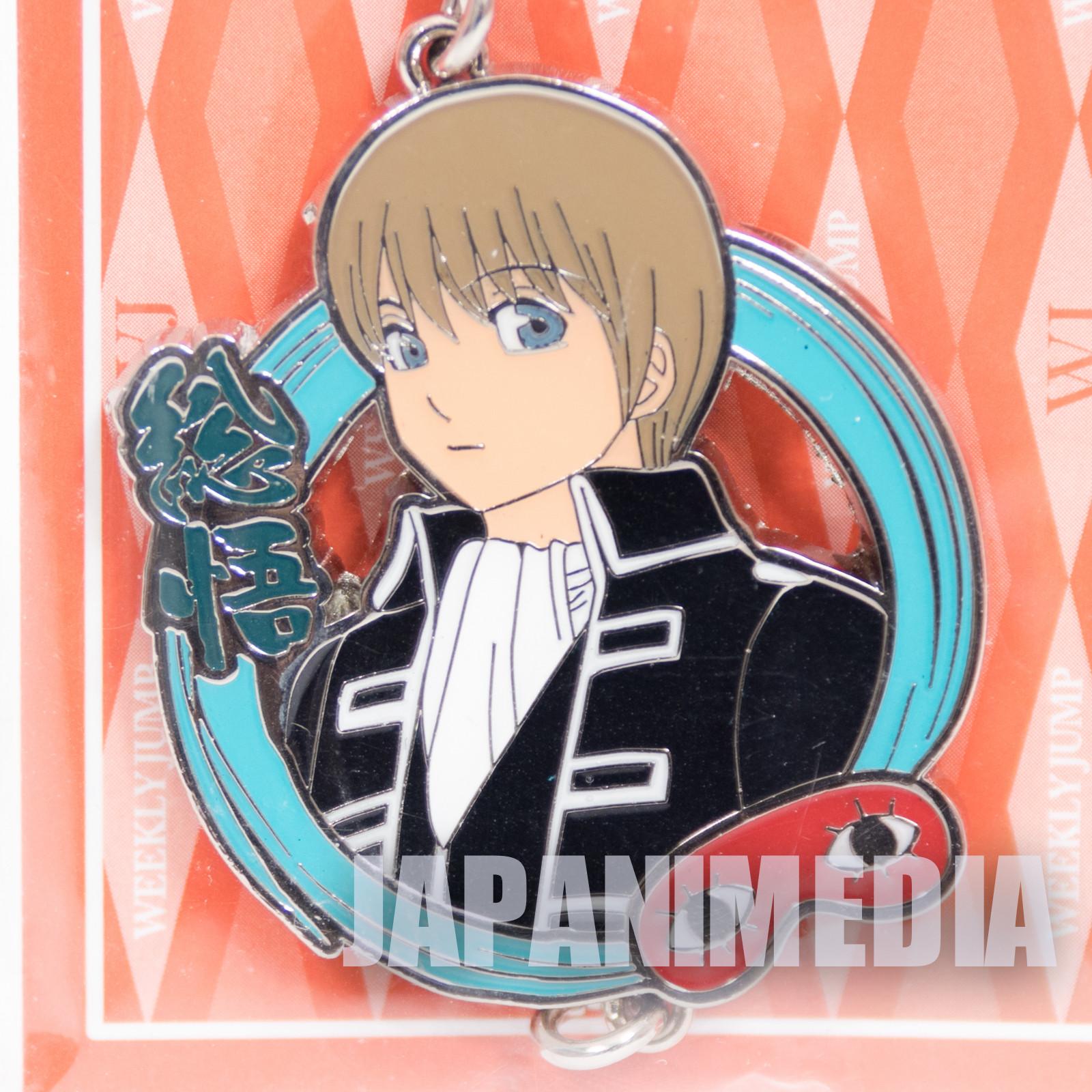 Gintama Sougo Okita Metal Charm Collection Weekly Jump Character JAPAN ANIME
