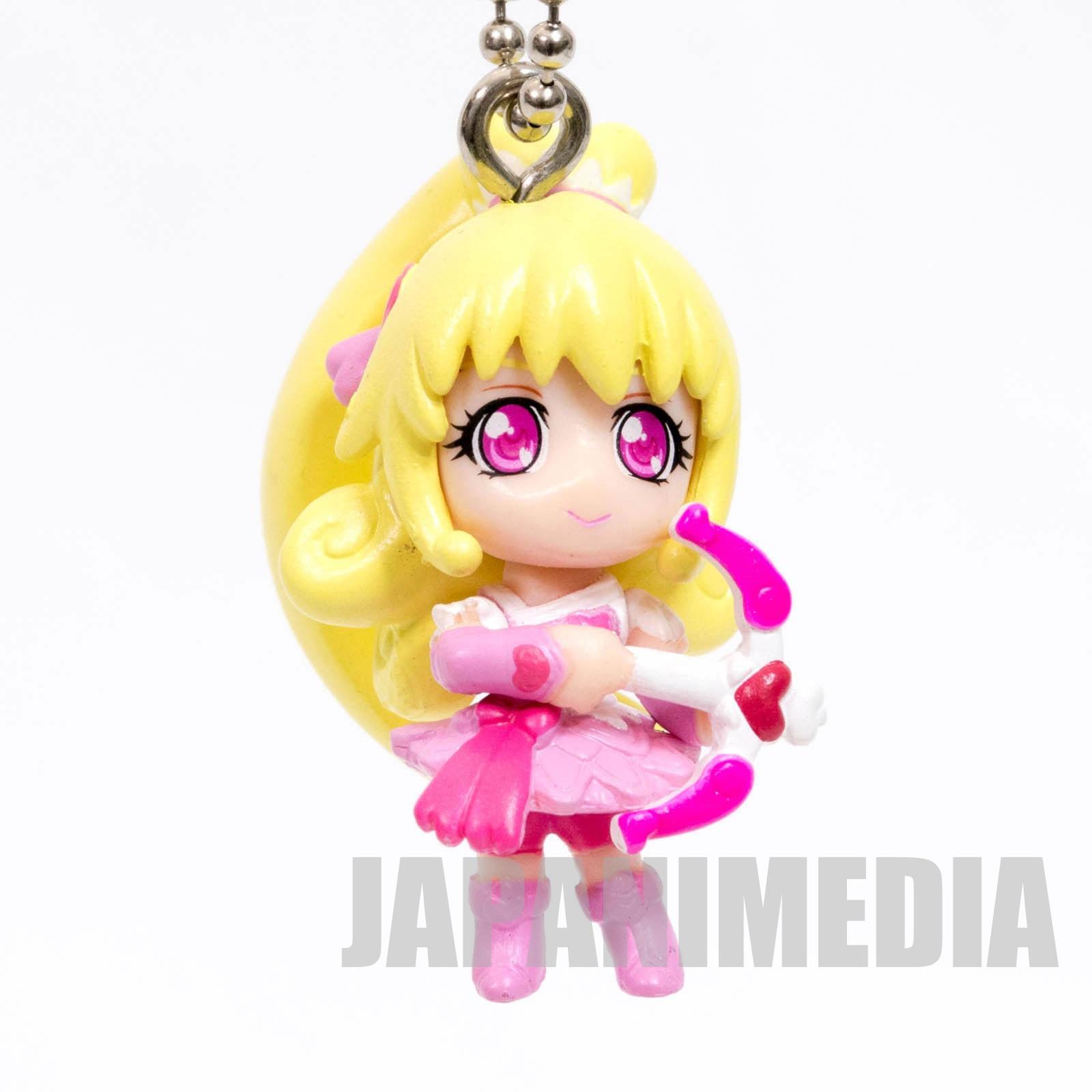 Doki Doki! PreCure Cure Heart Doki Doki Precure swing Mascot Figure Ball Keychain JAPAN ANIME