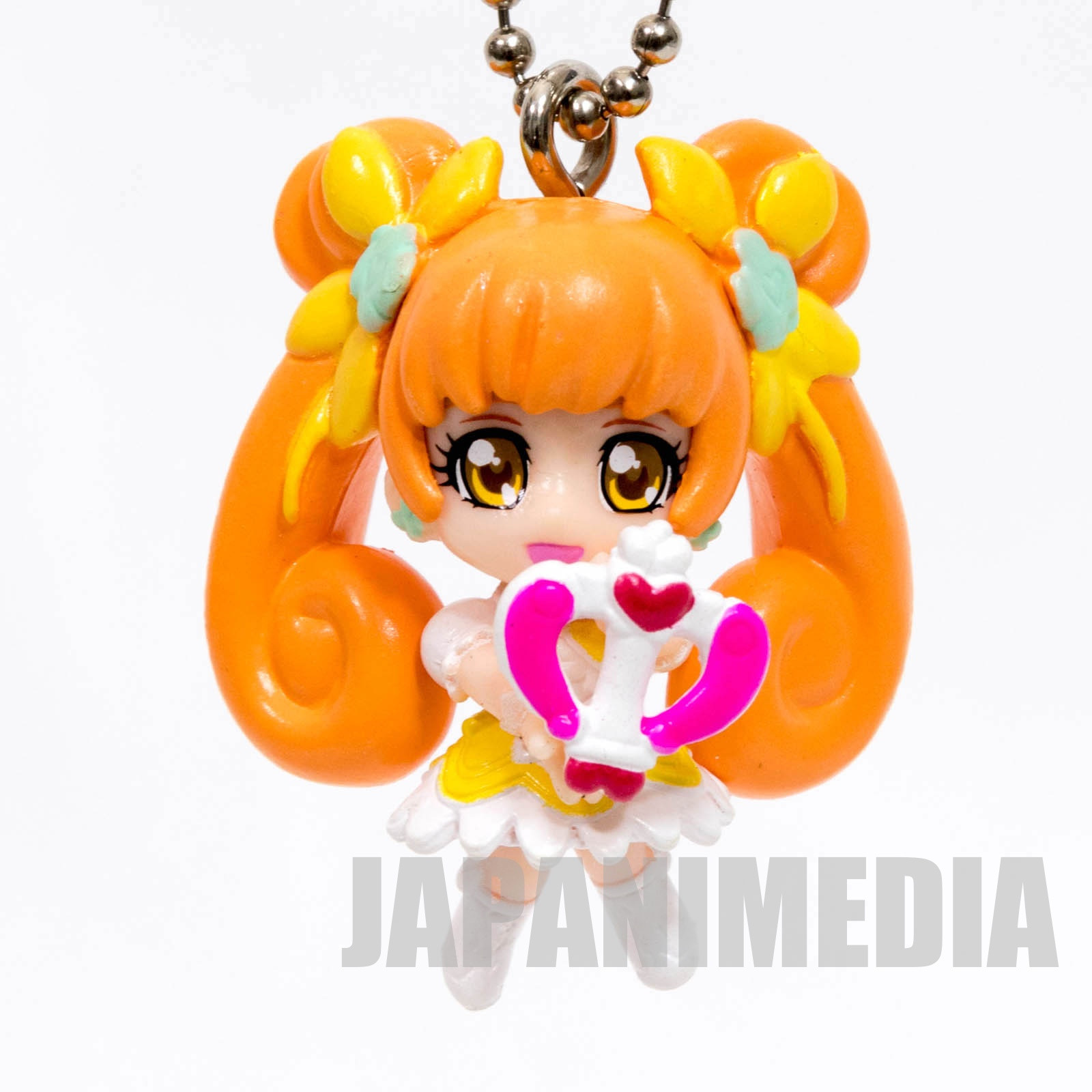 Doki Doki! PreCure Cure Rosetta Doki Doki Precure swing Mascot Figure Ball Keychain JAPAN ANIME