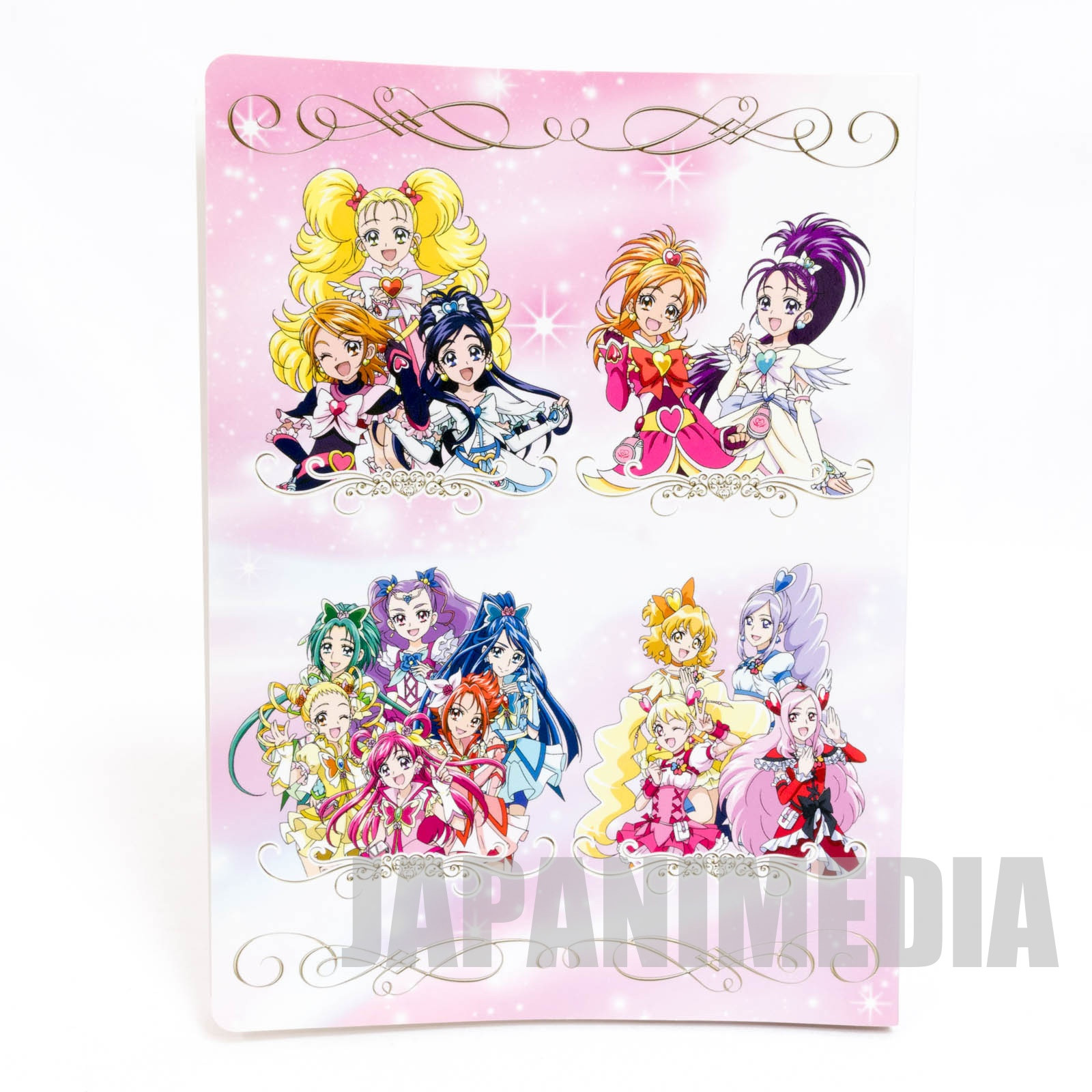 Pretty Cure All Stars Clear file book JAPAN ANIME