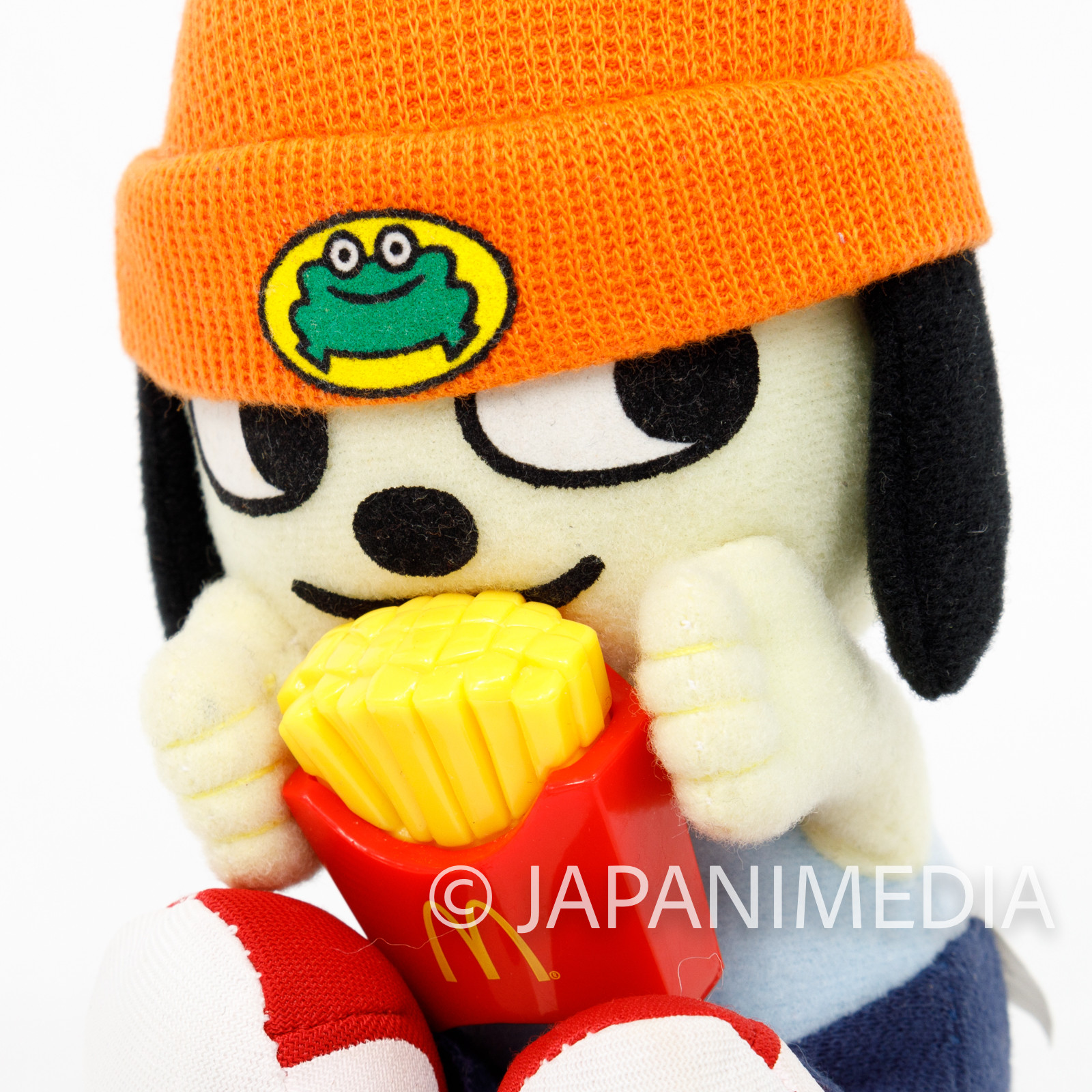 RARE! Parappa The Rapper Parappa Shaking Plush Doll Figure Macdonald Potatoes