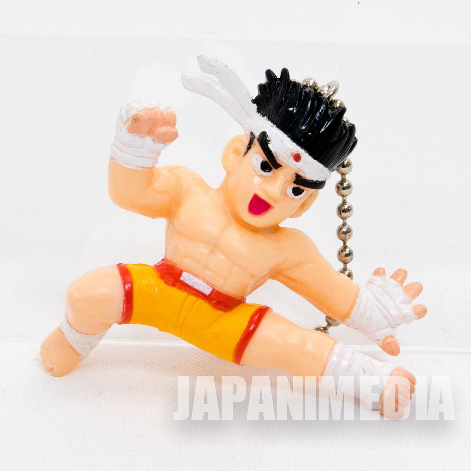 KOF King of Fighters Fatal Fury Joe Higashi Figure Ballchain JAPAN SNK