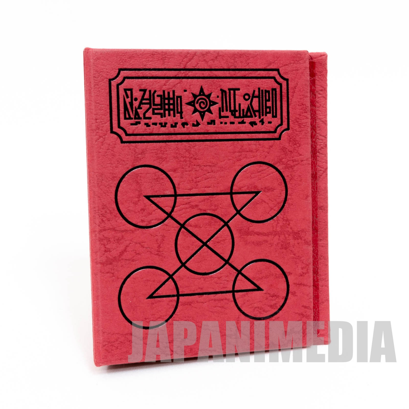 Zatch Bell! Spell Book The Card Battle Card case (Normal Gash ver.  Red x Black) JAPAN ANIME