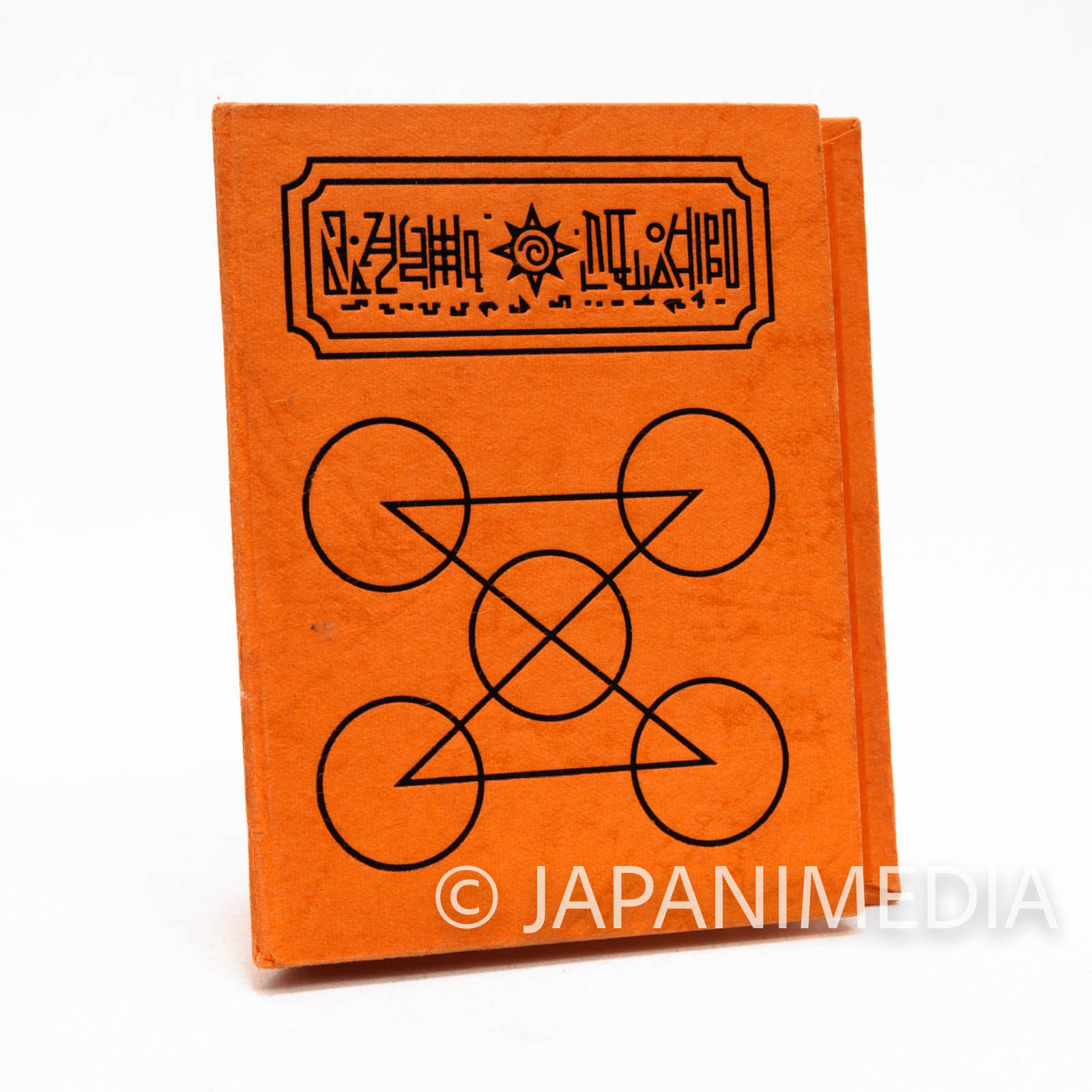 Zatch Bell! Spell Book The Card Battle Card case (Ponygon ver. Orange) JAPAN ANIME