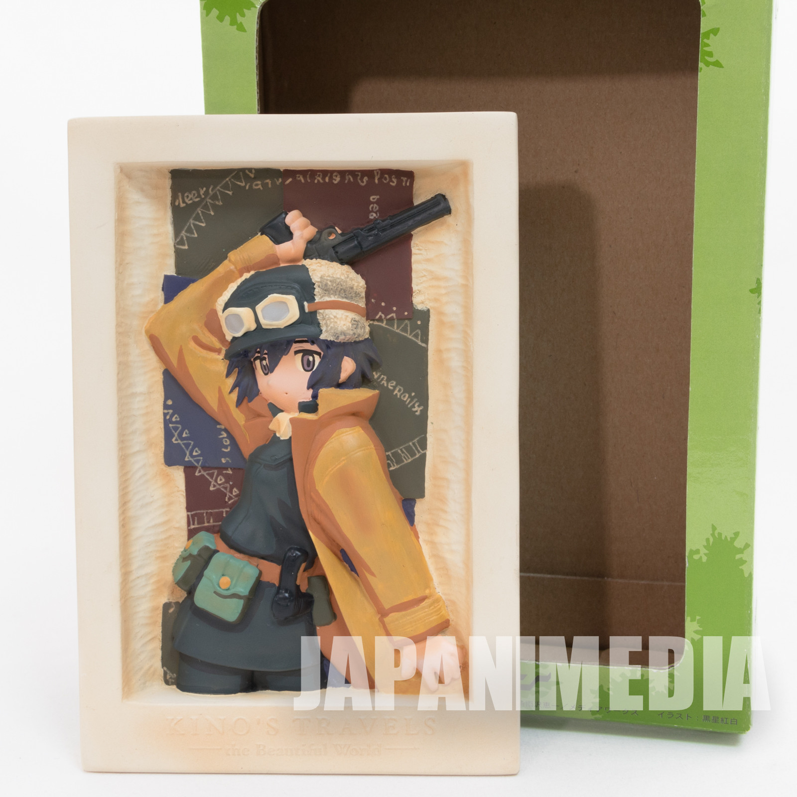 Kino's Journey - The Beautiful World - Polystone Relief Stand Toy's Works JAPAN