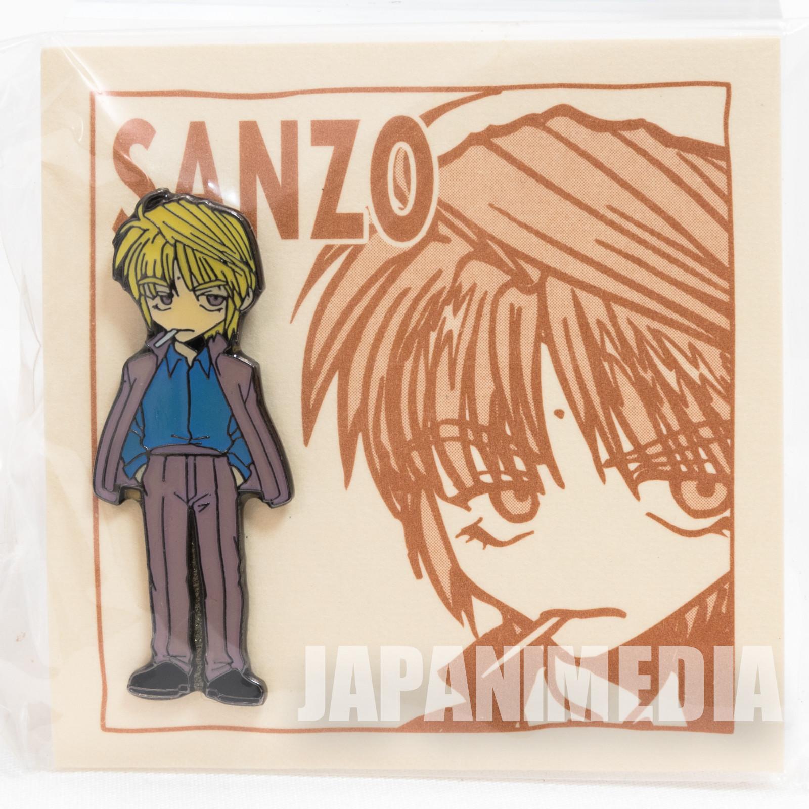 Gensomaden SAIYUKI Genjyo Sanzo Metal Pins JAPAN ANIME MANGA 2