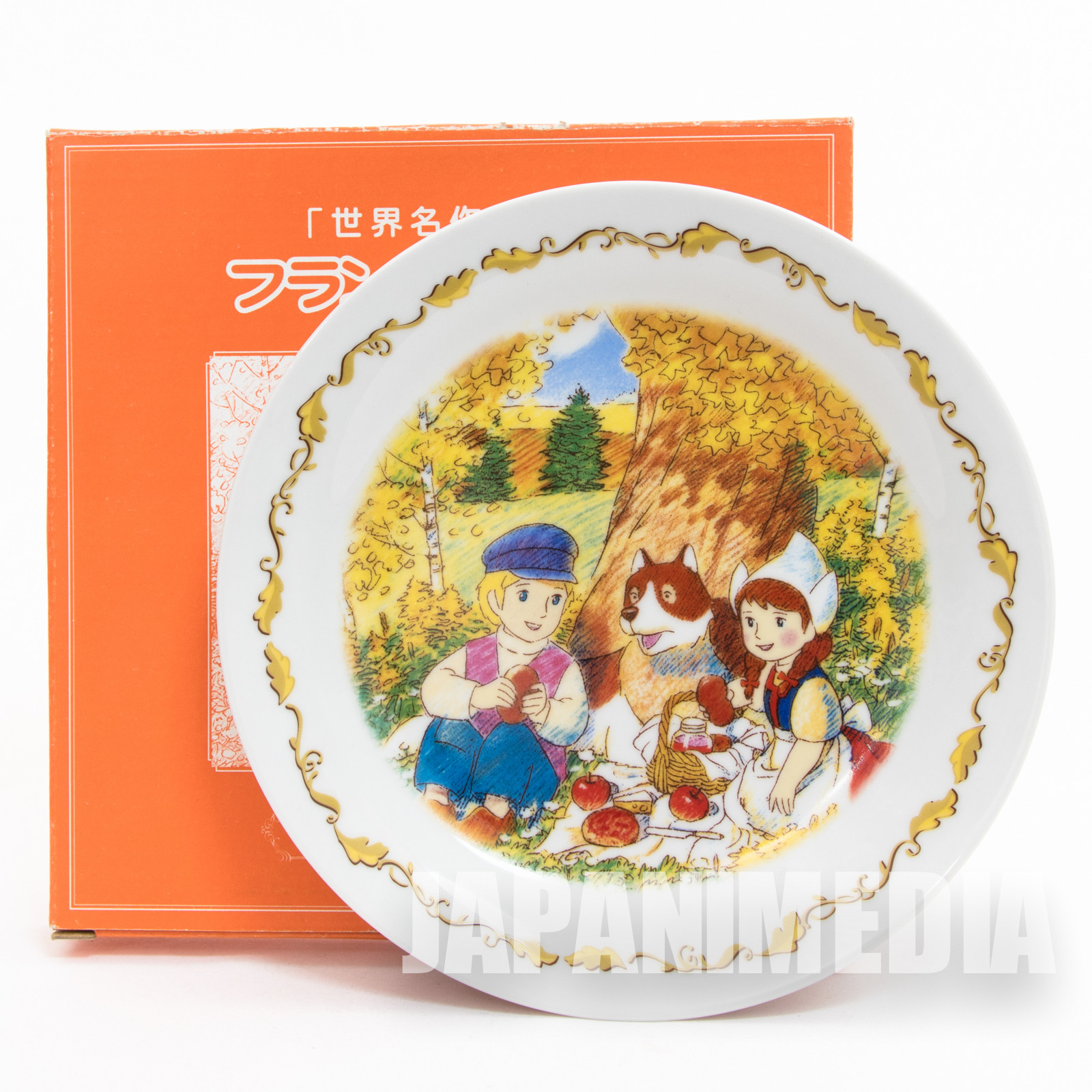 Dog of Flanders Picture Plate Autumn Ver. JAPAN ANIME MANGA