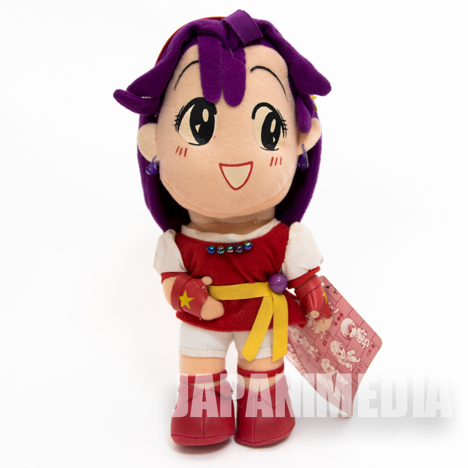 RARE! KOF King of Fighters Athena Asamiya Plush Doll SNK JAPAN NEO GEO