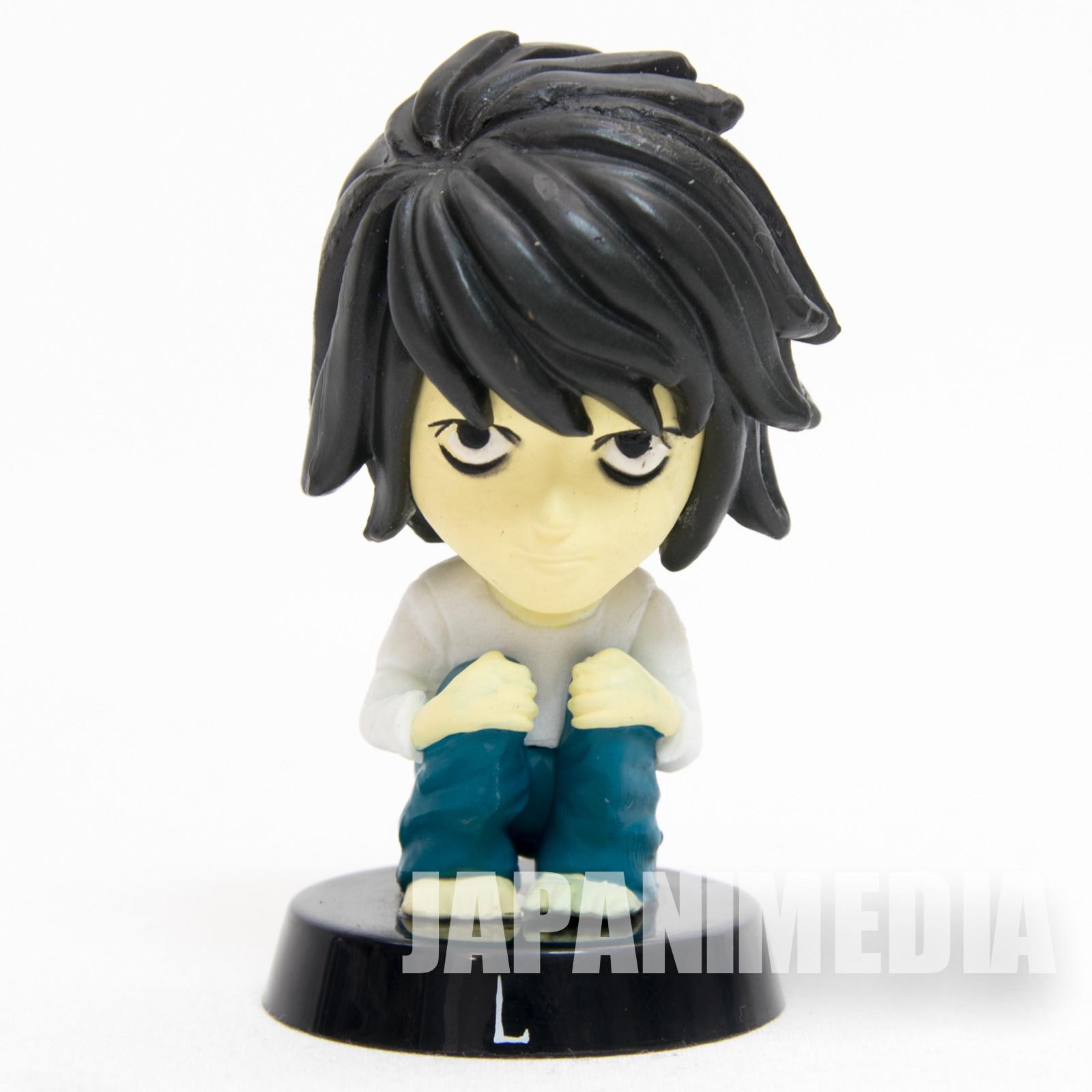 Death Note L Ryuzaki Bobble Bobbin Head Figure JAPAN ANIME MANGA
