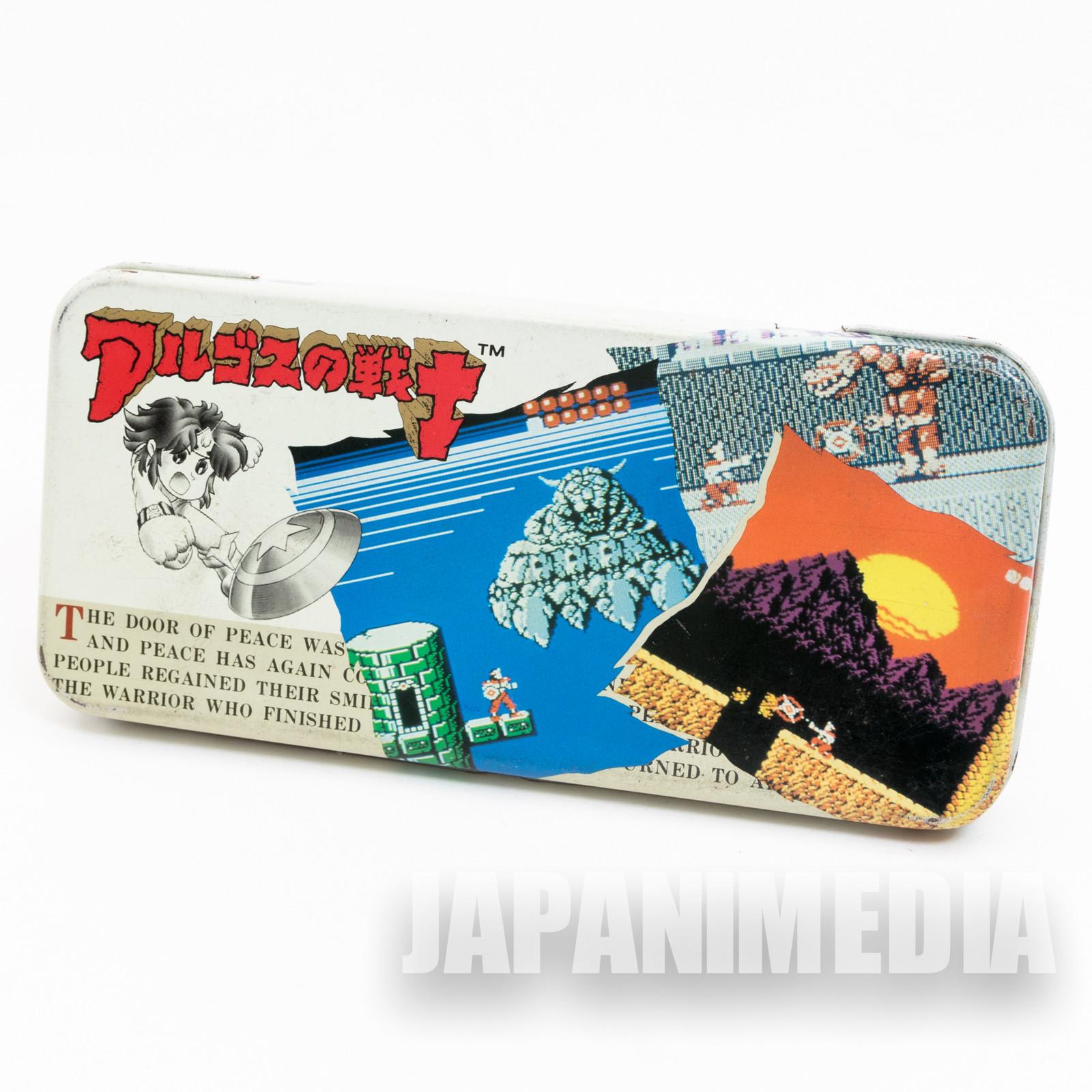 Retro RARE! Rygar Argos Warrior Can Pen Case NES Famicom Tecmo JAPAN GAME