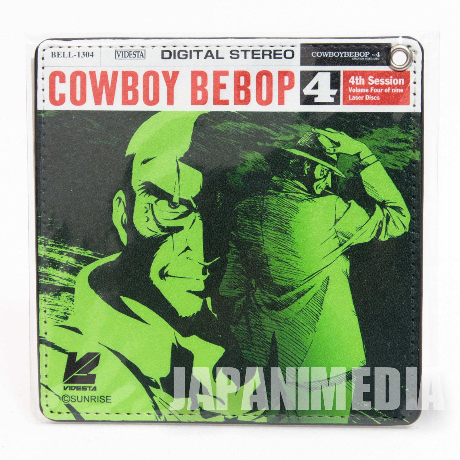 Cowboy Bebop Jet Black Pass Card Case JAPAN ANIME
