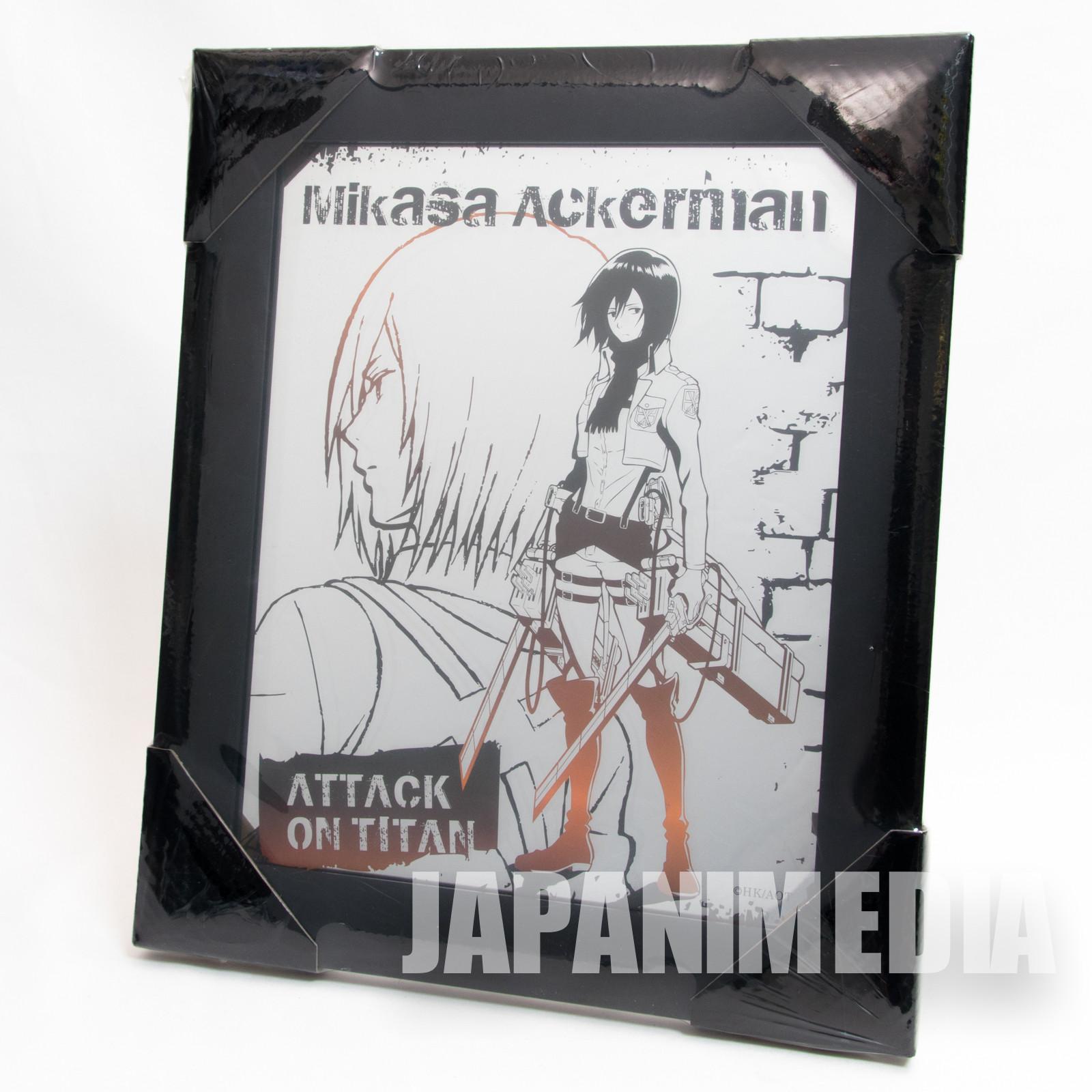 Attack on Titan Mikasa Ackerman Picture Mirror JAPAN ANIME MANGA