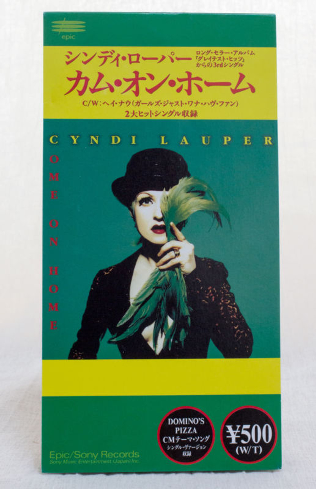 Cyndi Lauper Come On Home JAPAN 3 inch 8cm CD Single