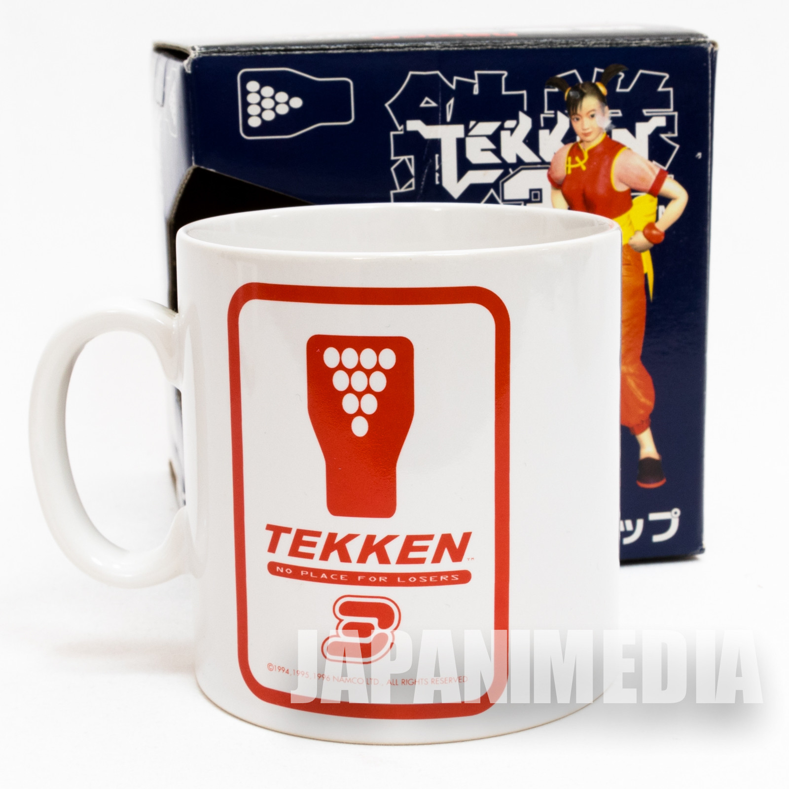 Tekken 3 Logo Mark Mug Namco JAPAN GAME