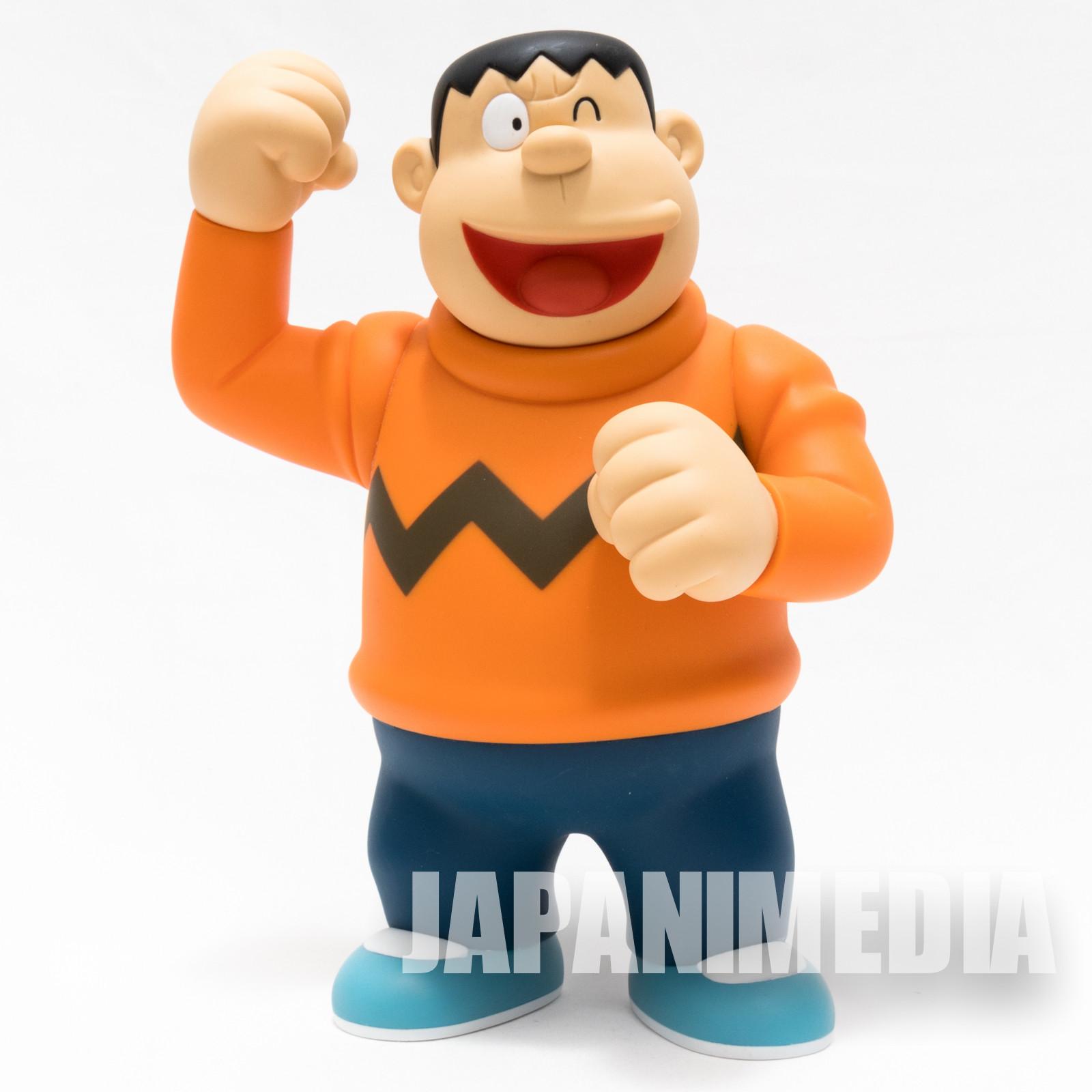 "Doraemon Gian Takeshi Gouda VCD 9"" Figure Medicom Toy JAPAN ANIME MANGA FUJIKO FUJIO"