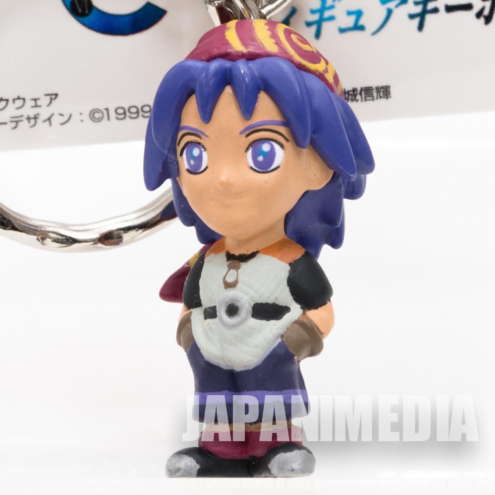 RARE! Chrono Cross Serge Figure Keychain Banpresto JAPAN GAME