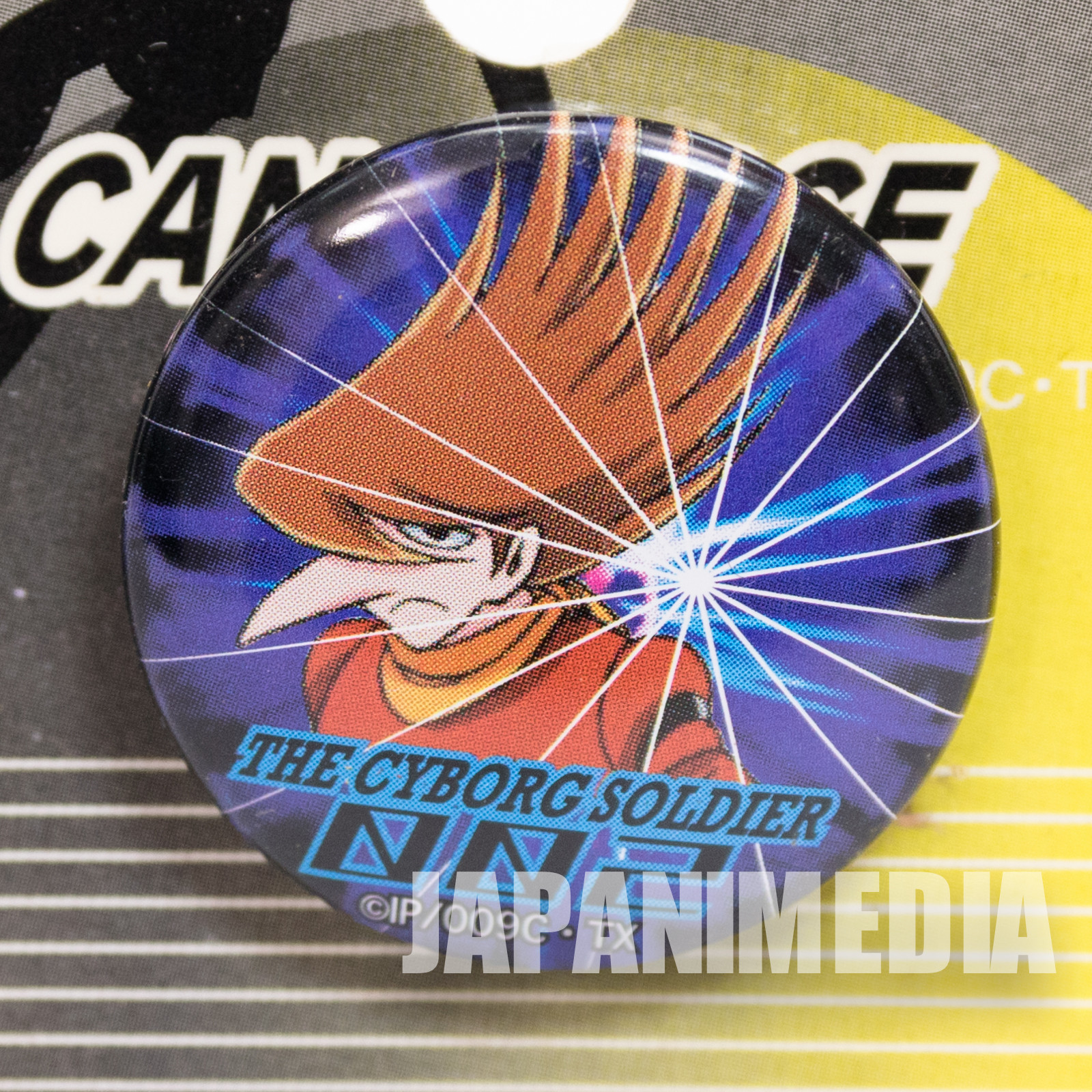 Cyborg 009 Jet Link 002  Button can Badge Pins JAPAN ANIME