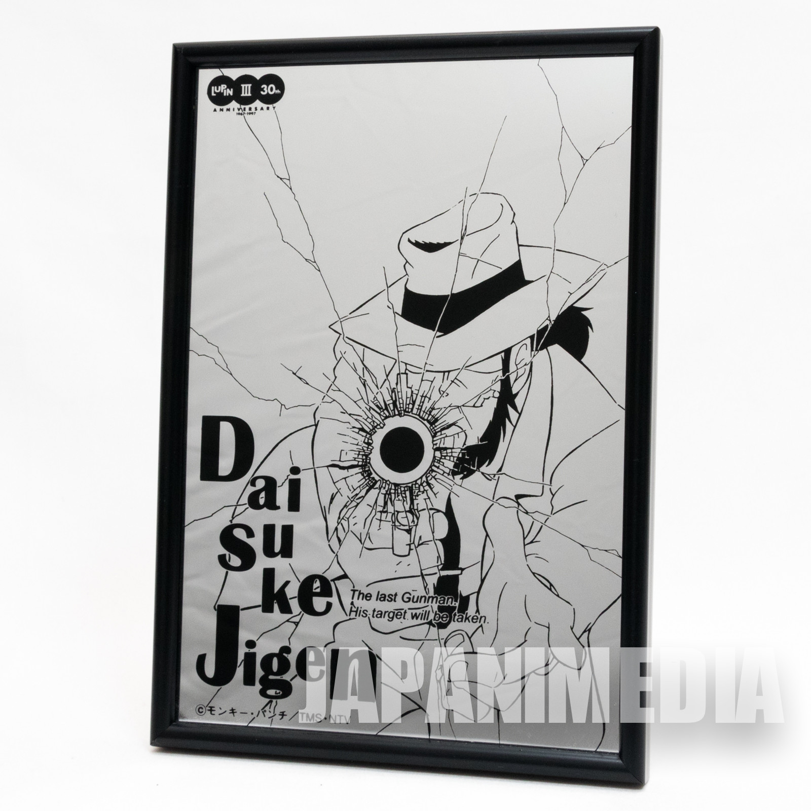 Lupin the 3rd Picture Mirror Jigen ver. JAPAN ANIME MANGA THIRD