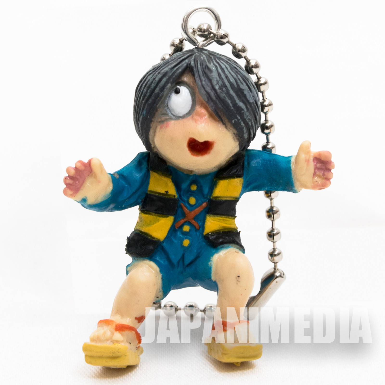 Gegege no Kitaro Mini Figure with Ballchain JAPAN ANIME YOKAI
