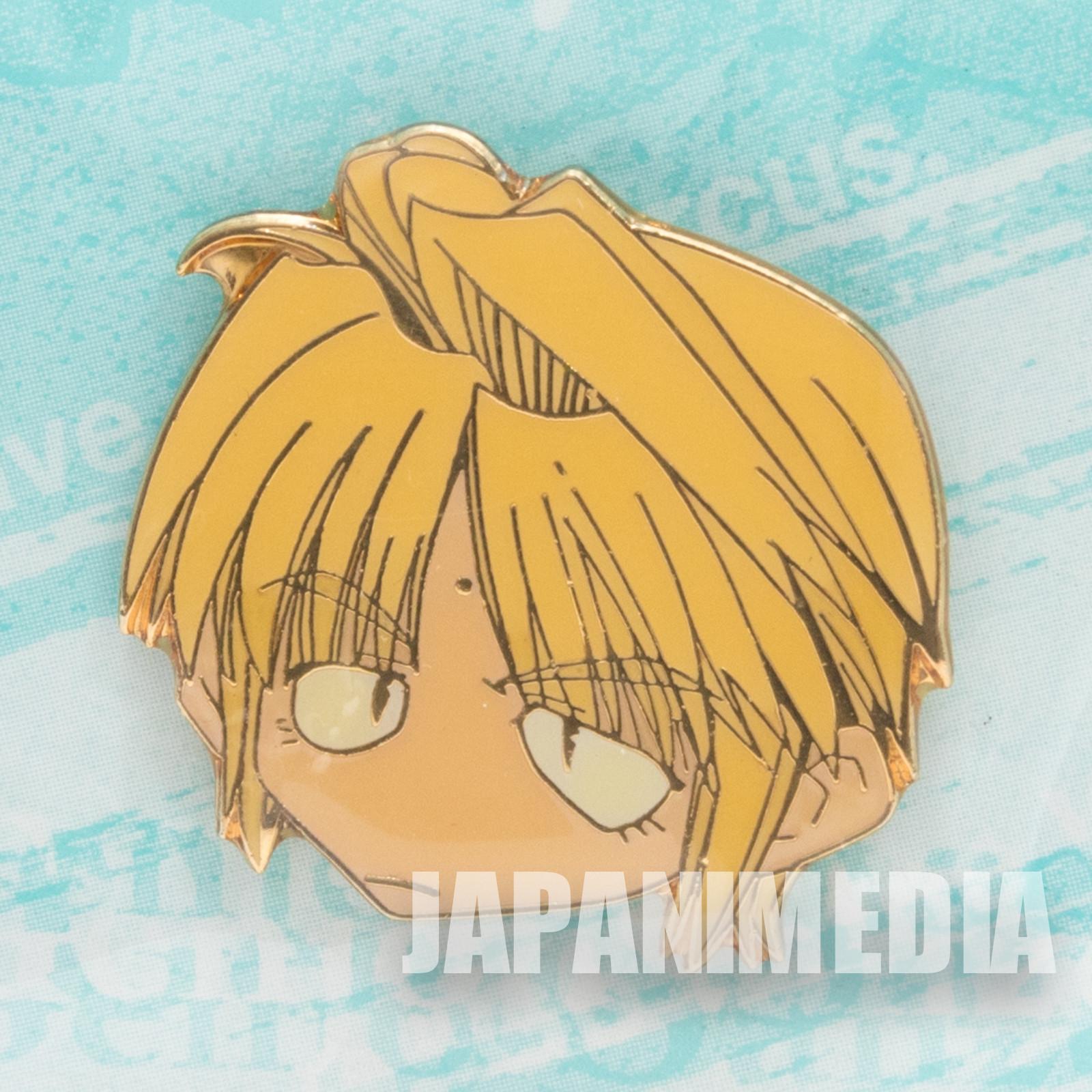 Gensomaden SAIYUKI Genjyo Sanzo Face Metal Pins JAPAN ANIME MANGA