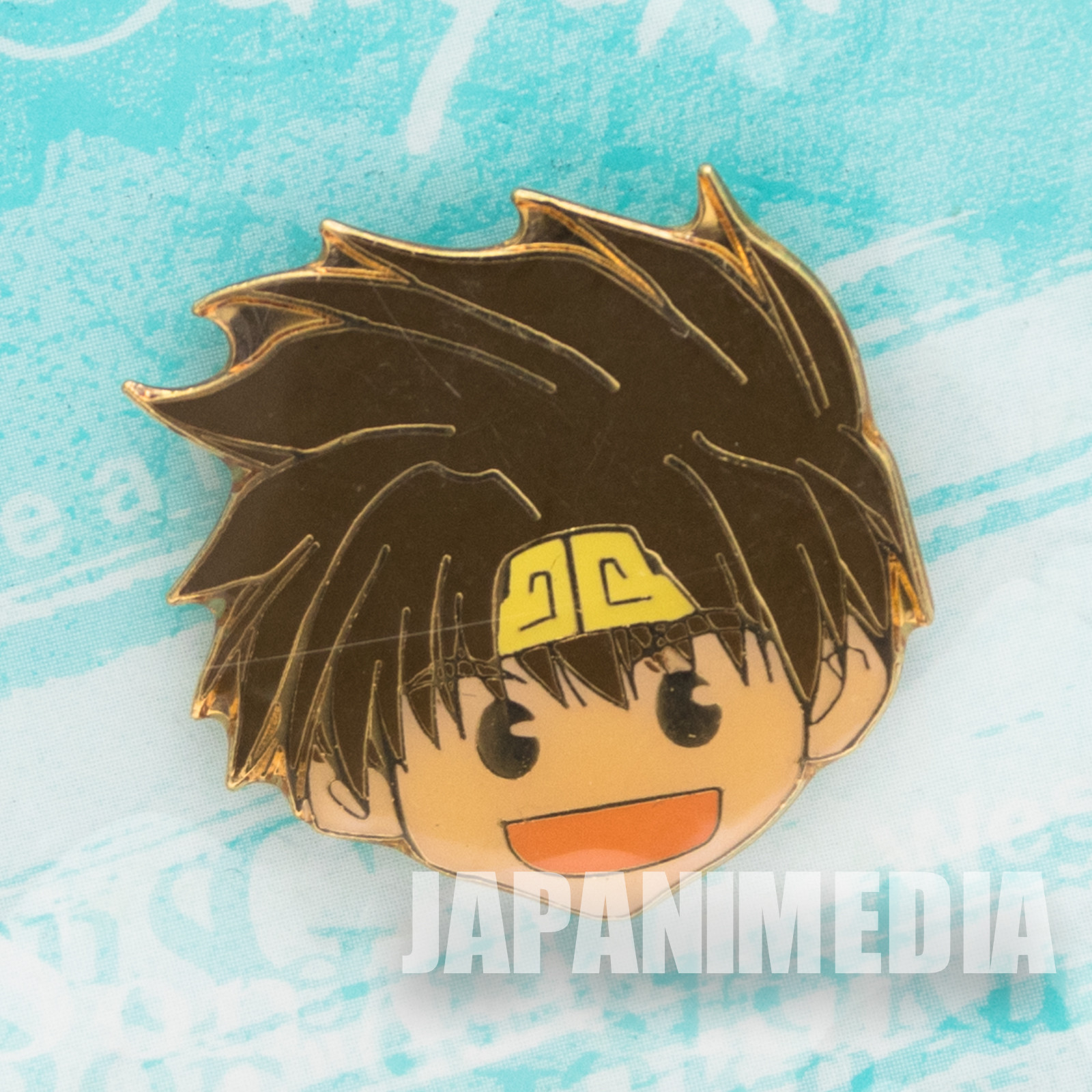 Gensomaden SAIYUKI Son Goku Face Metal Pins JAPAN ANIME MANGA