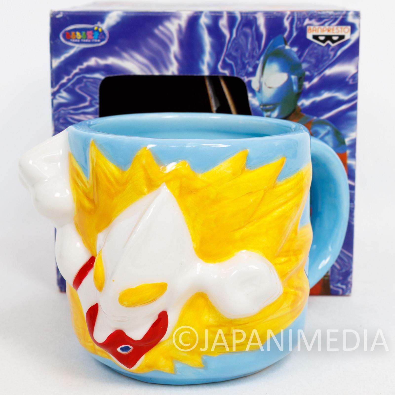 Ultraman 3D Art Mug Banpresto JAPAN ANIME MANGA