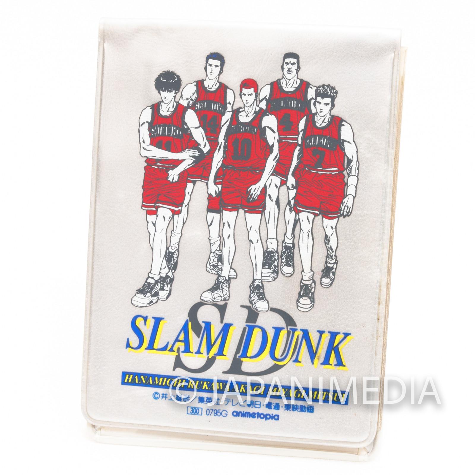 Slam Dunk Sakuragi Rukawa Akagi Mitsui Miyagi Pass Card Case Holder