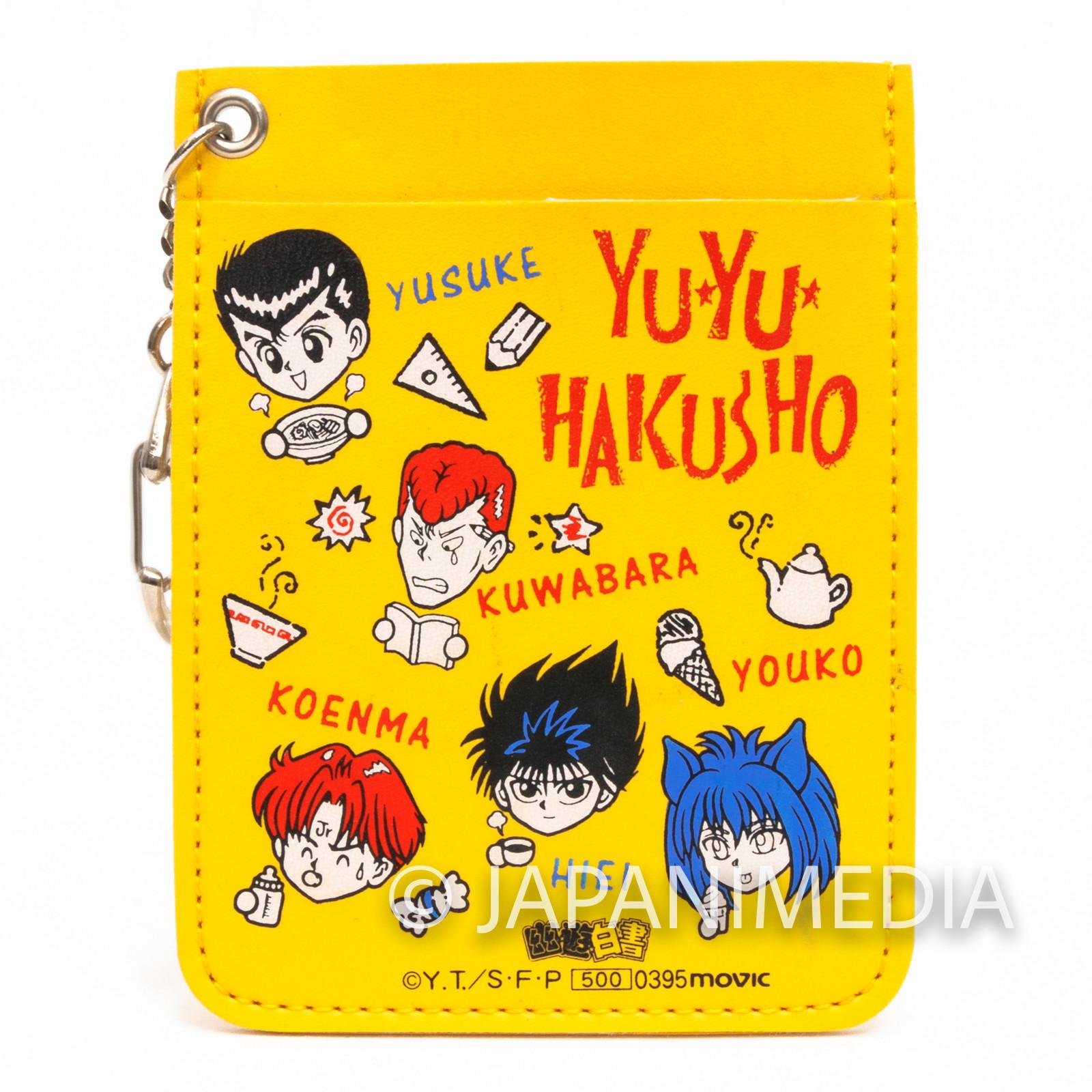 Yu-Yu Hakusho Yusuke Kuwabara Koenma Youko Pass Card Case Holder 4