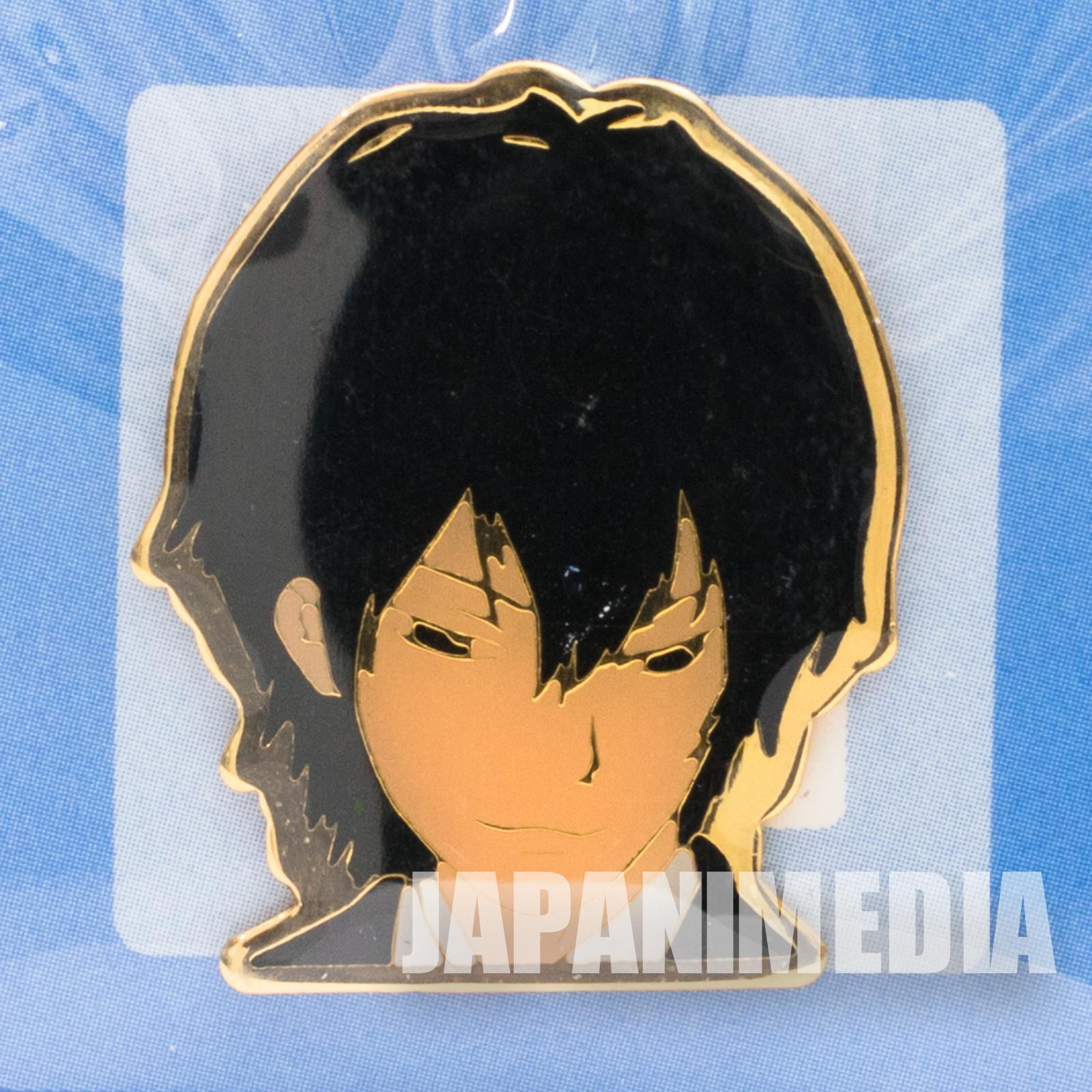 Katekyo Hitman REBORN!  Kyoya Hibari Metal Pins JAPAN ANIME WEEKLY JUMP