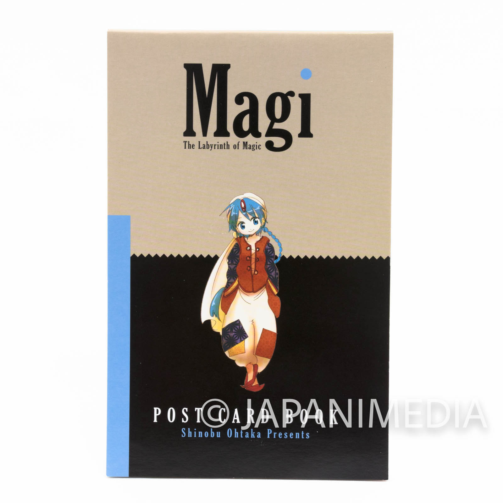 Magi The Labyrinth of Magic Postcards Book JAPAN ANIME