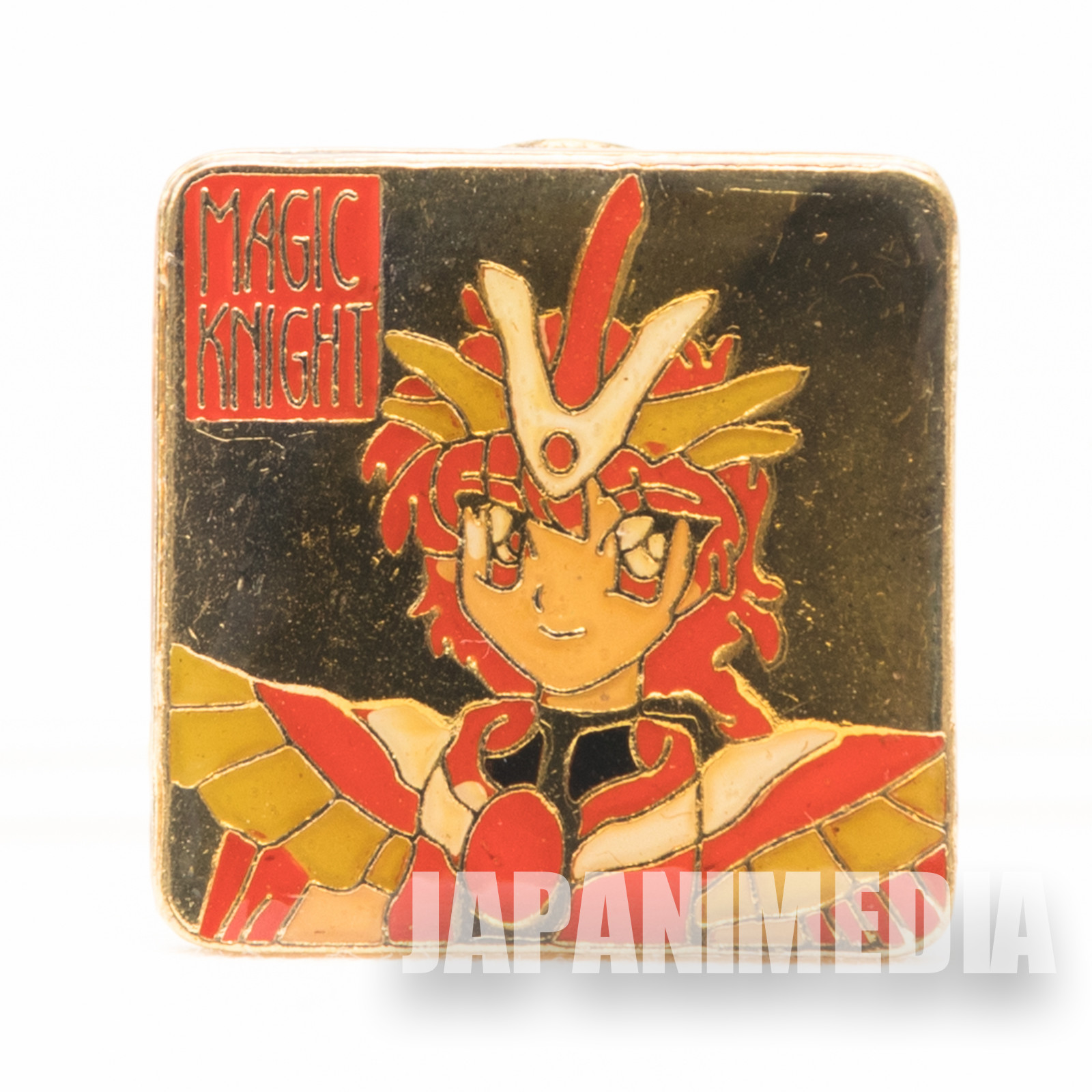 Magic Knight Rayearth Metal Pins Badge Hikaru Shido JAPAN ANIME MANGA