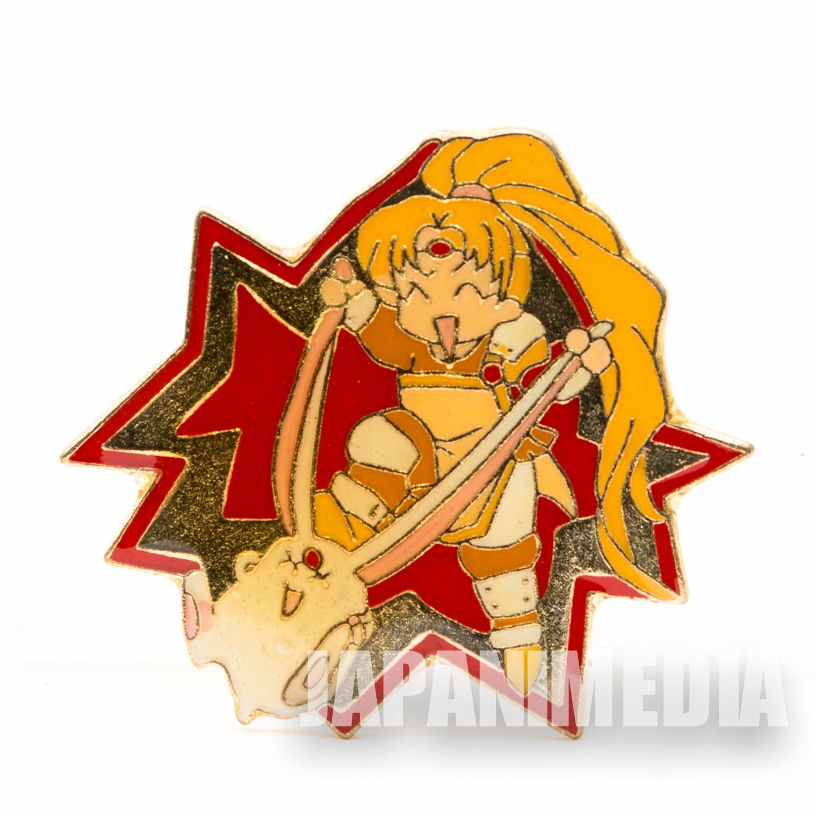 Magic Knight Rayearth Metal Pins Badge Presea & Mokona JAPAN ANIME MANGA