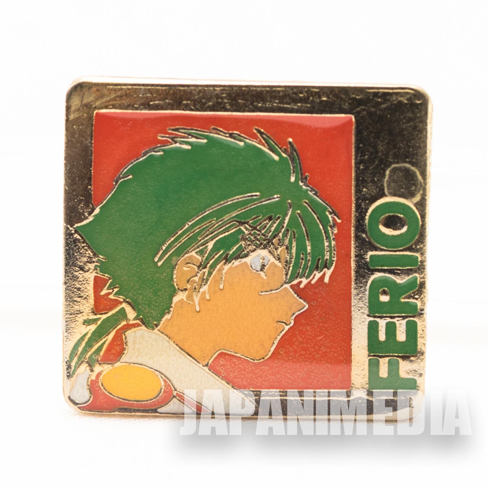 Magic Knight Rayearth Metal Pins Badge Ferio JAPAN ANIME MANGA