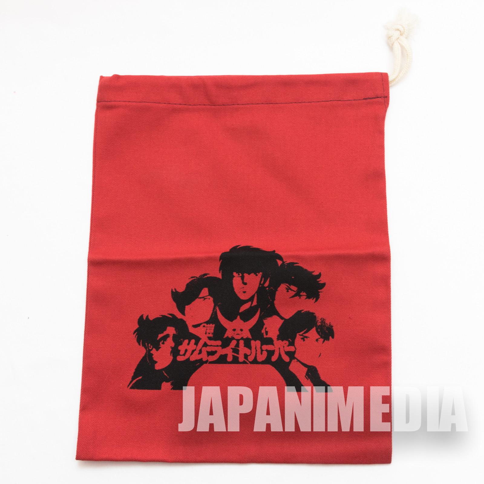 Ronin Warriors Samurai Troopers Drawstring Bag JAPAN ANIME
