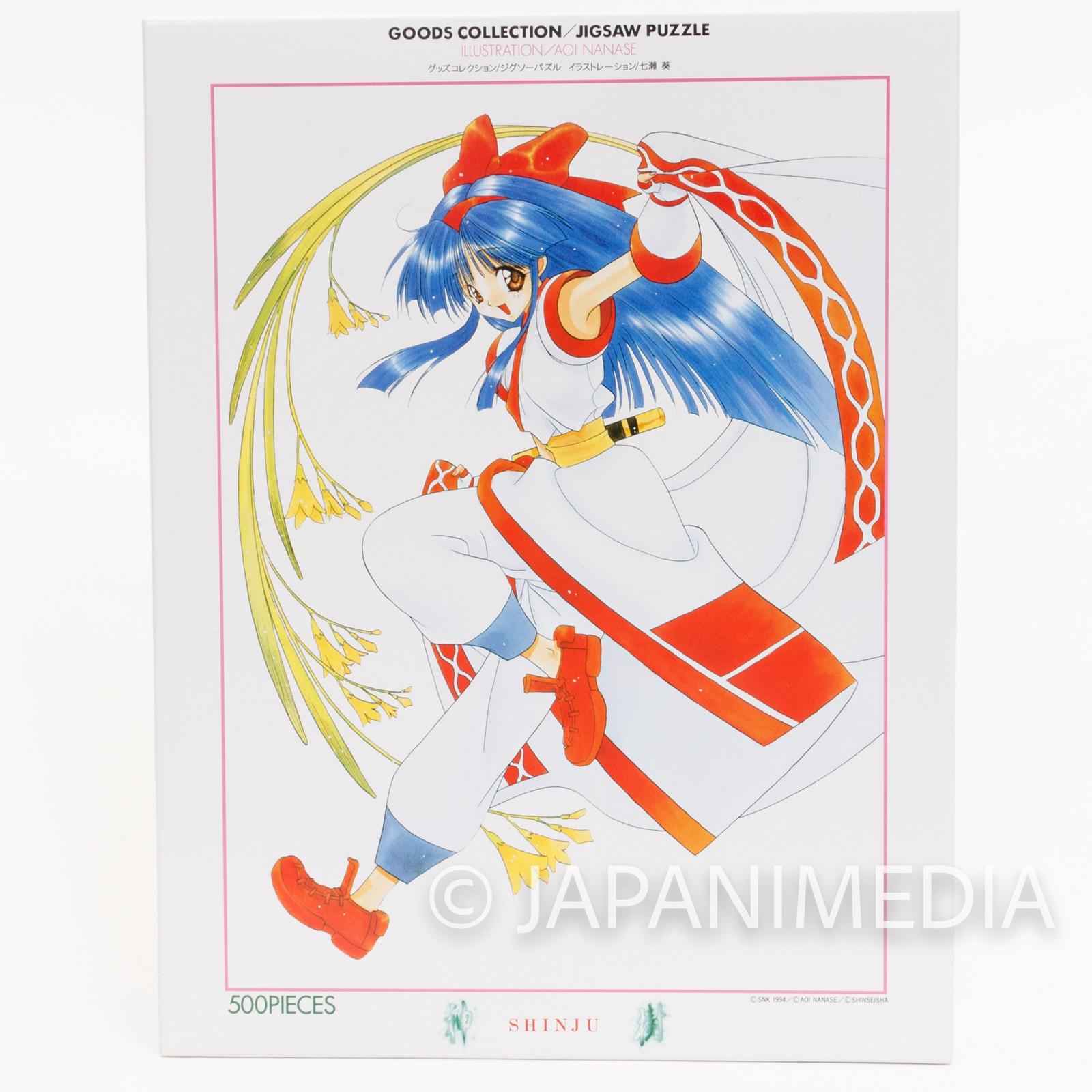 Samurai Shodown Nakoruru Jigsaw Puzzle 500 Pieces NEOGEO SNK JAPAN
