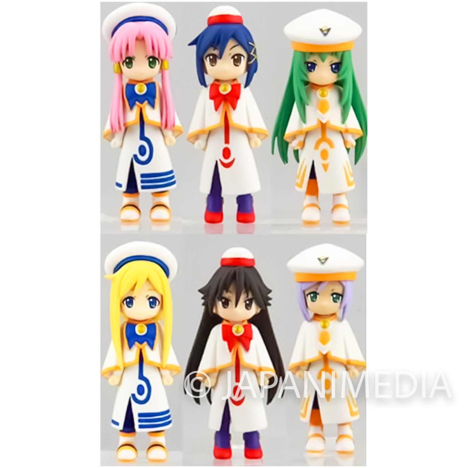 ARIA The ORIGINATION SD Figure 6pc Set PS2 Limited JAPAN