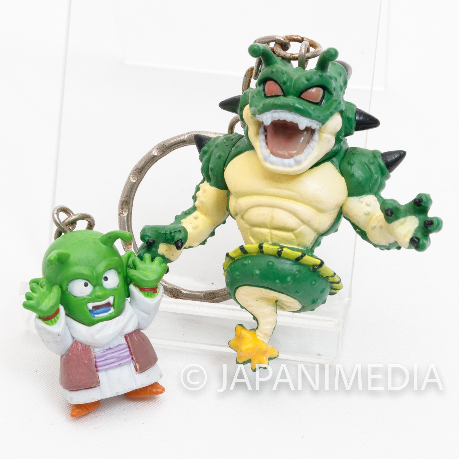 RARE! Dragon Ball Z Shenron Polunga & Dende Figure Key Chain JAPAN