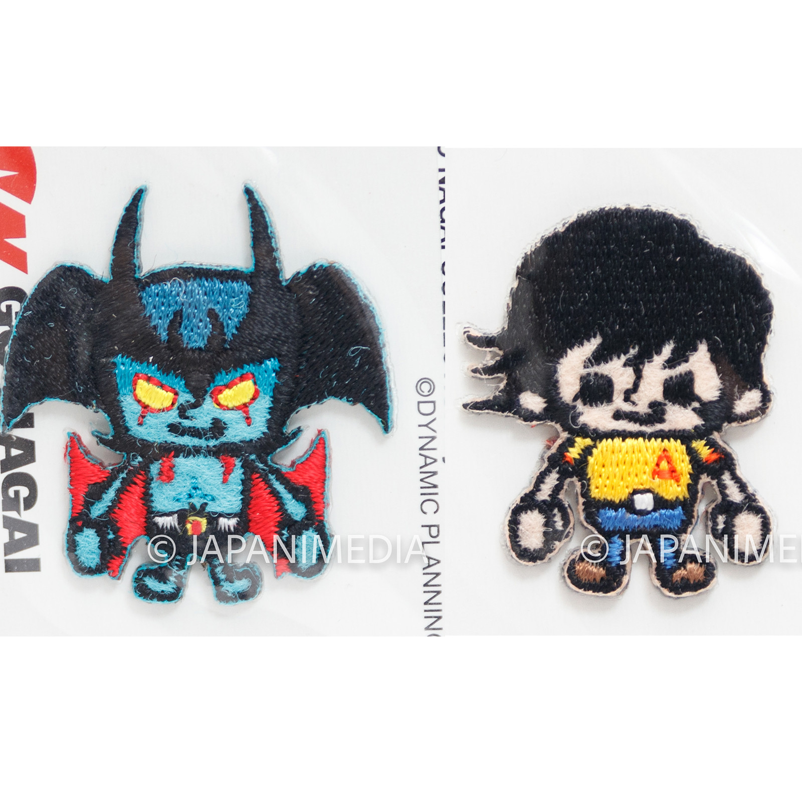 Devilman x Panson Works Wappen Emblem Badge  Go Nagai Collection