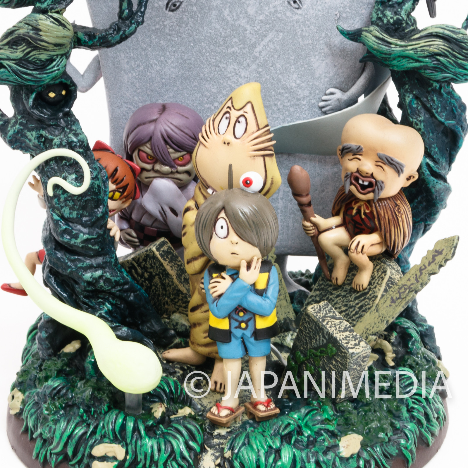 Gegege no Kitaro Yokai Family Diorama Figure JAPAN ANIME MANGA