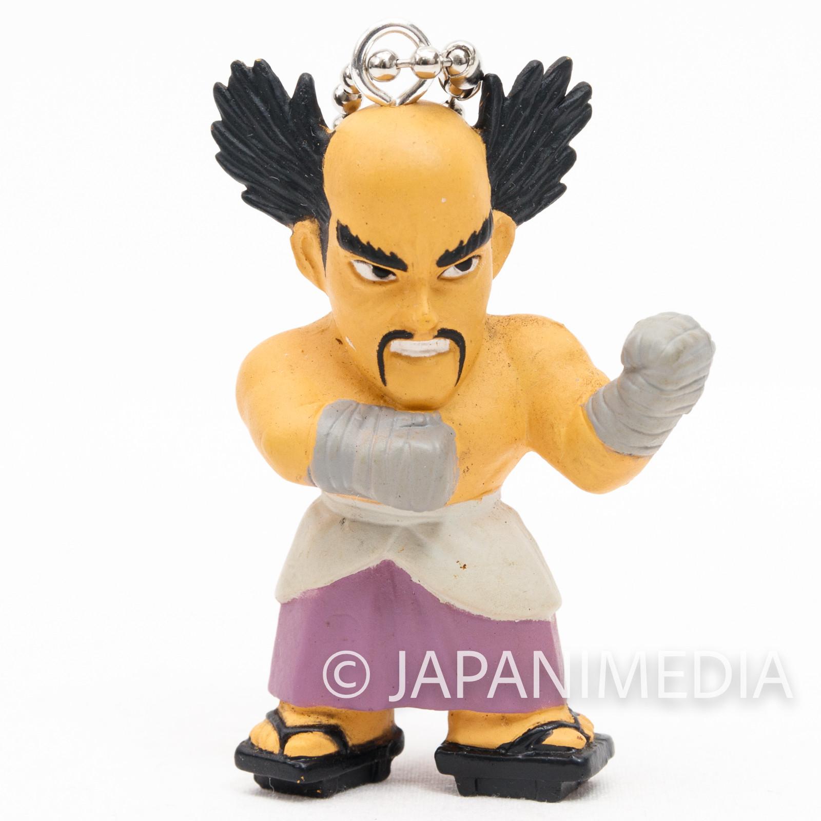 Tekken Heihachi Mishima Figure Ballchain Namco JAPAN GAME