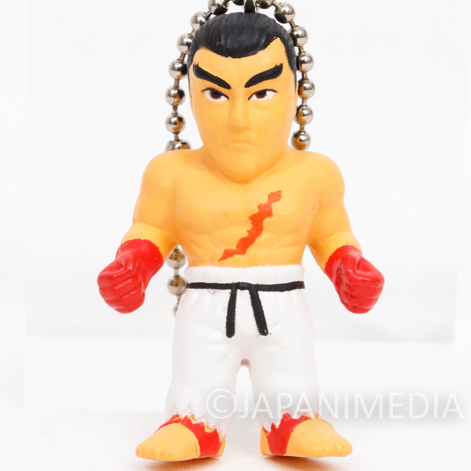 Tekken Kazuya Mishima Figure Ballchain Namco JAPAN GAME