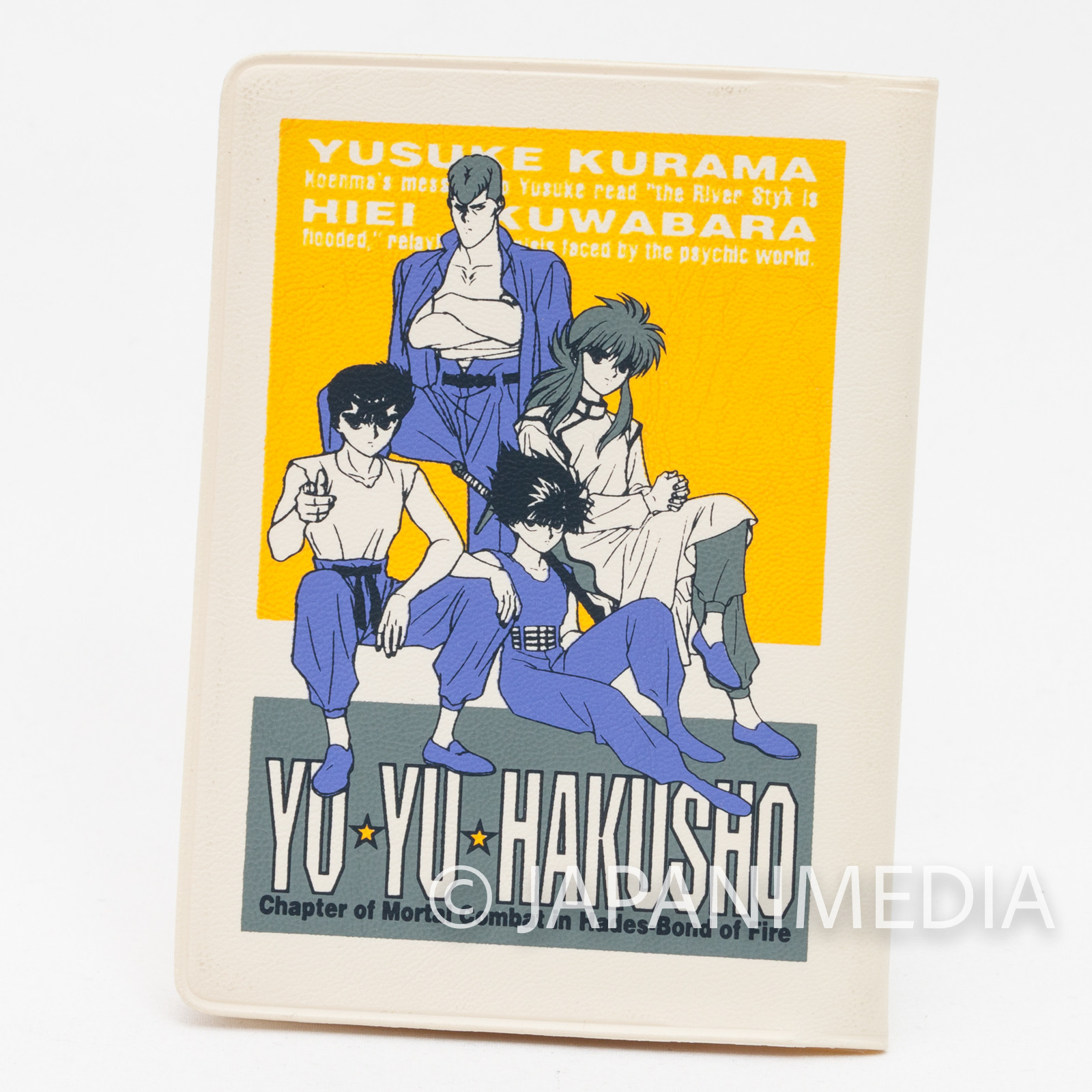Yu-Yu Hakusho Yusuke Kuwabara Hiei Kurama Pass Card Case Holder 6